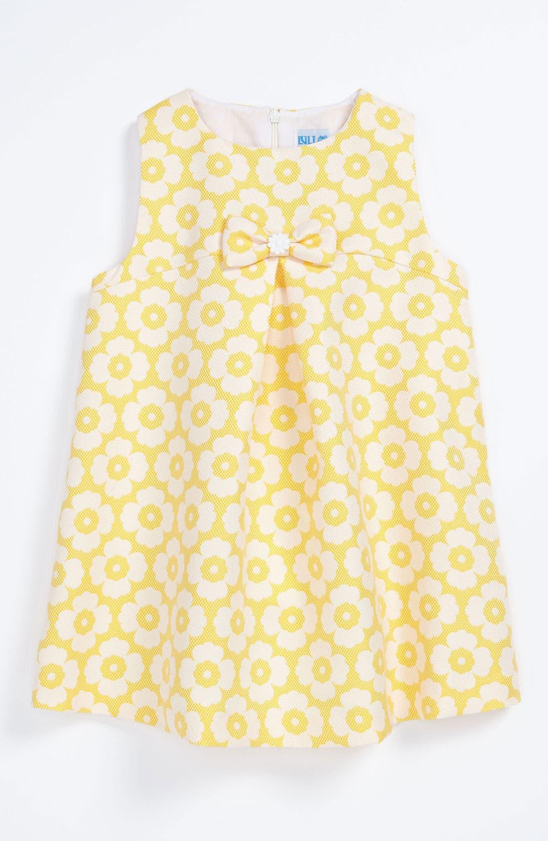 Alternate Image 1 Selected - Luli & Me Floral Dress (Baby Girls)