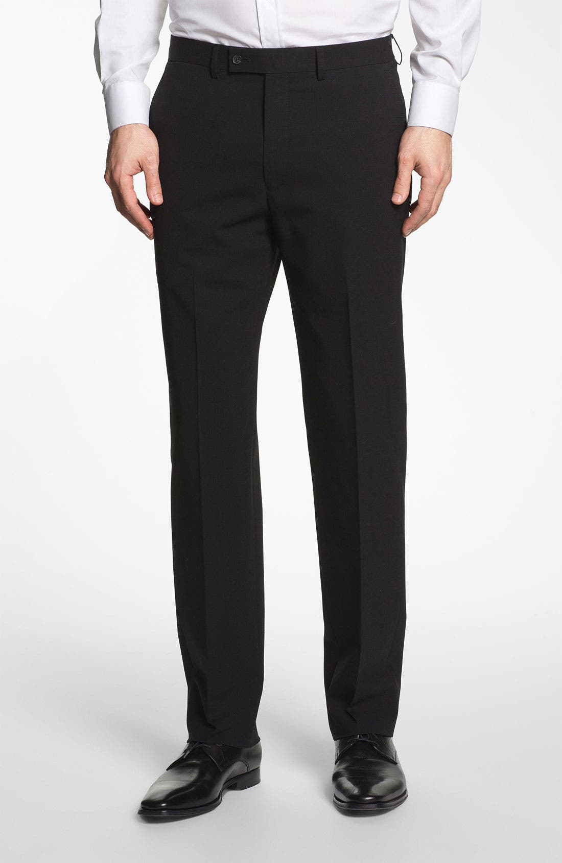 Alternate Image 5  - Michael Kors Trim Fit Stretch Wool Suit