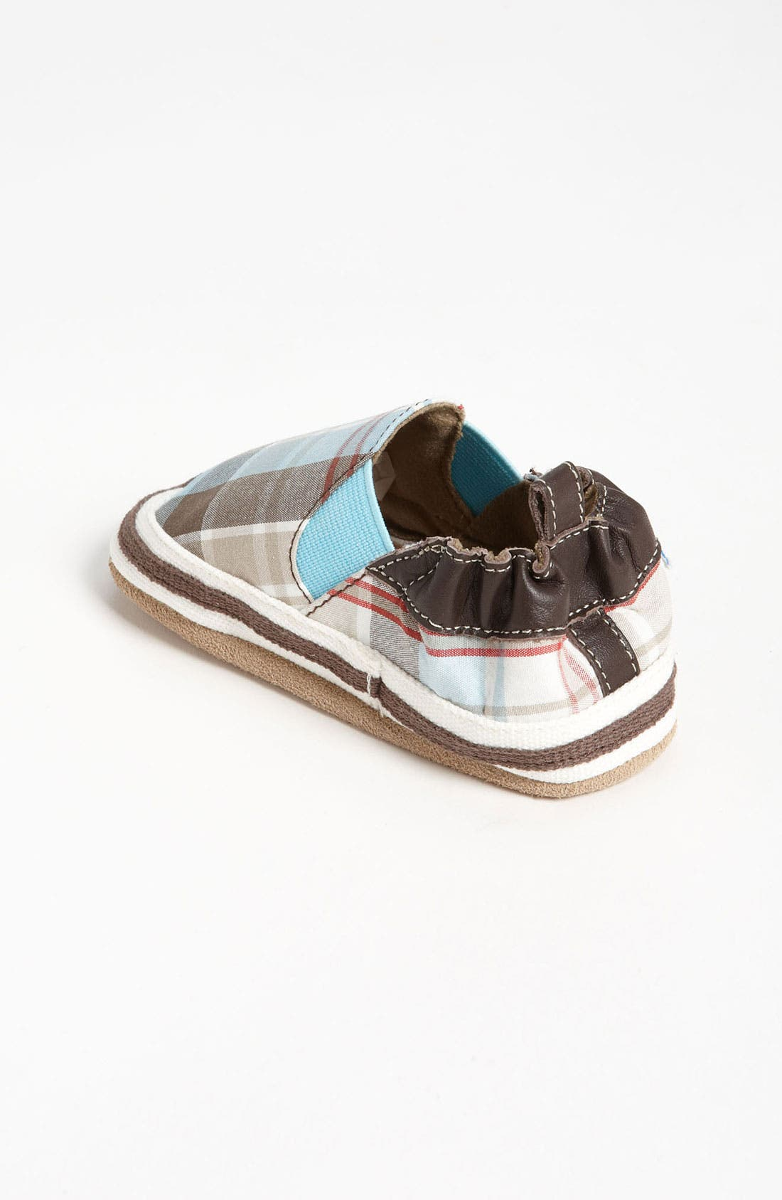 Alternate Image 2  - Robeez® 'Day Out' Crib Shoe (Baby & Walker)