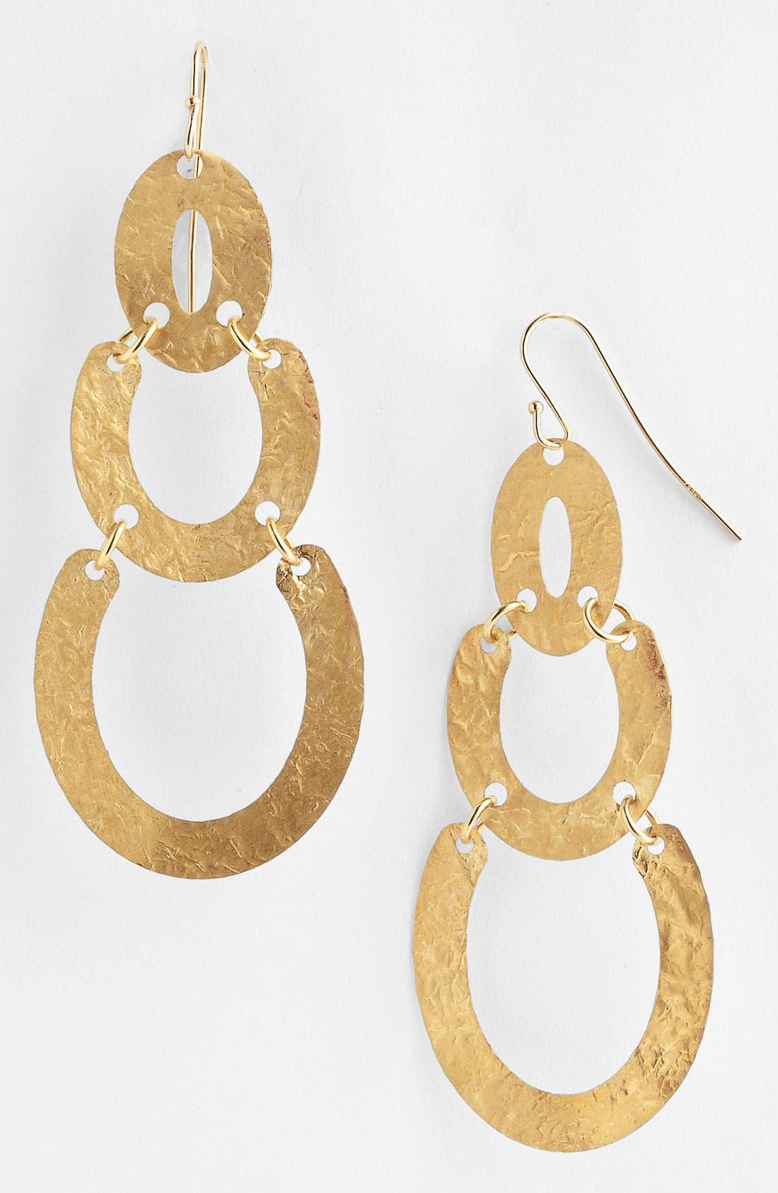 Alternate Image 1 Selected - Argento Vivo Drop Earrings