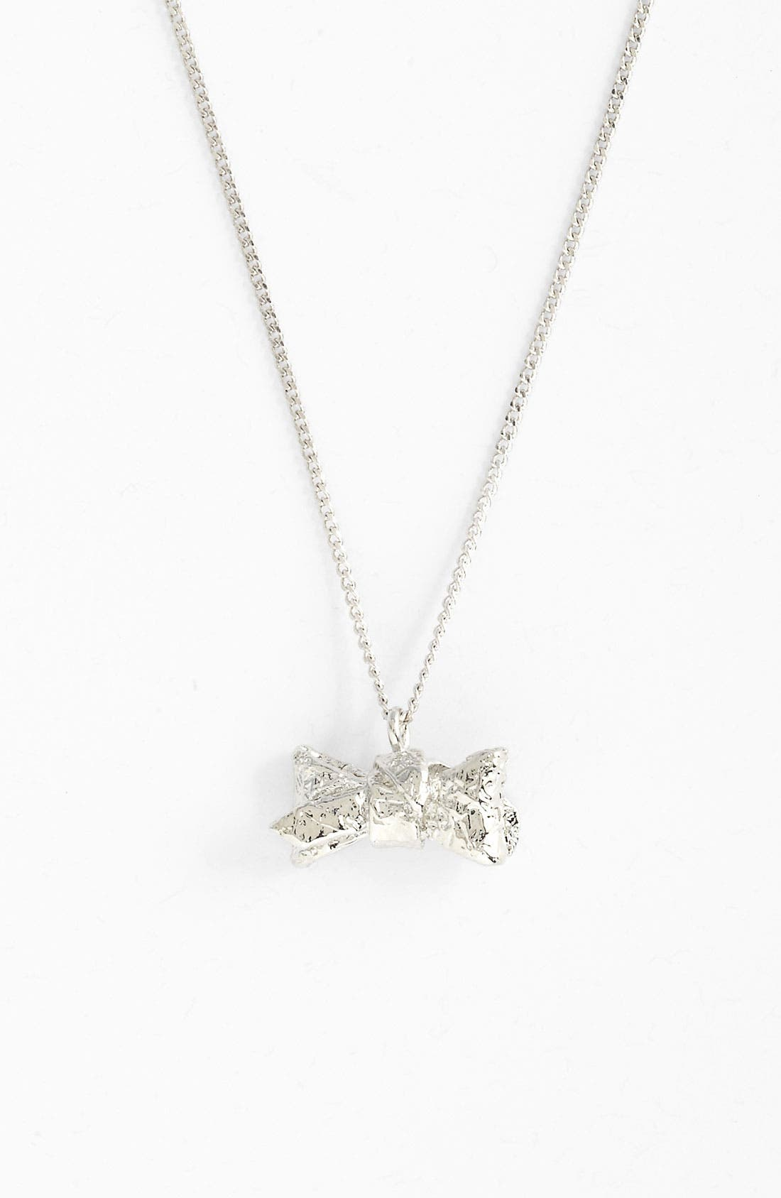 Alternate Image 1 Selected - MARC BY MARC JACOBS 'Exploded Bow' Pendant Necklace