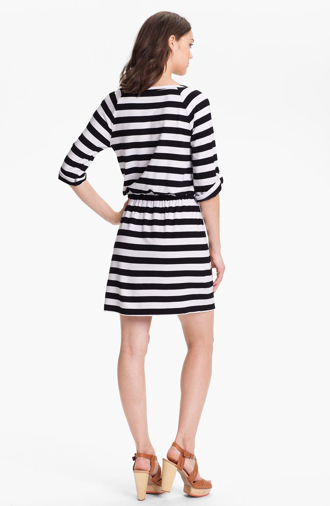 Alternate Image 2  - Caslon® Knit Henley Dress