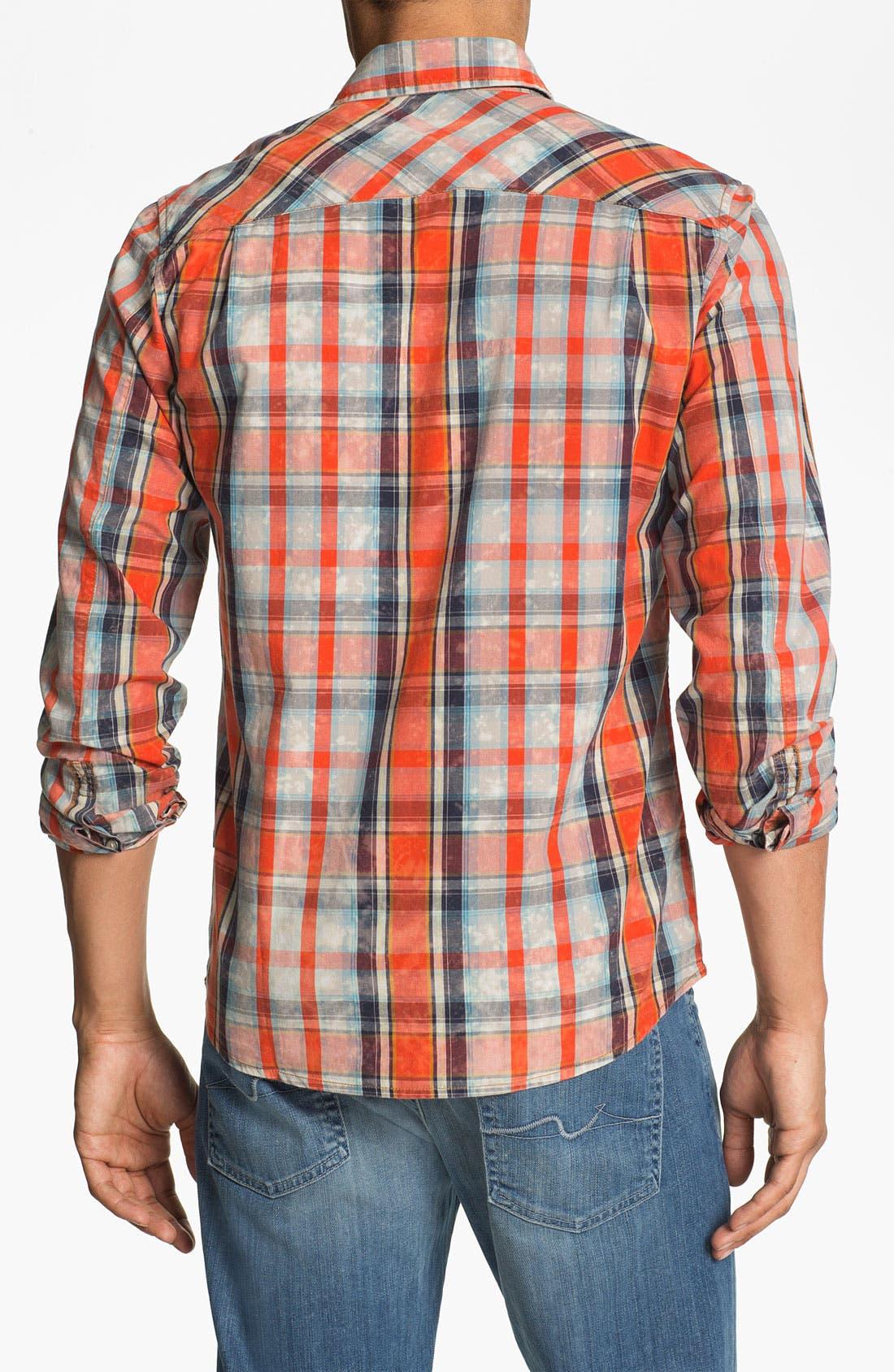 Alternate Image 3  - 55DSL 'Sweel' Check Print Woven Shirt