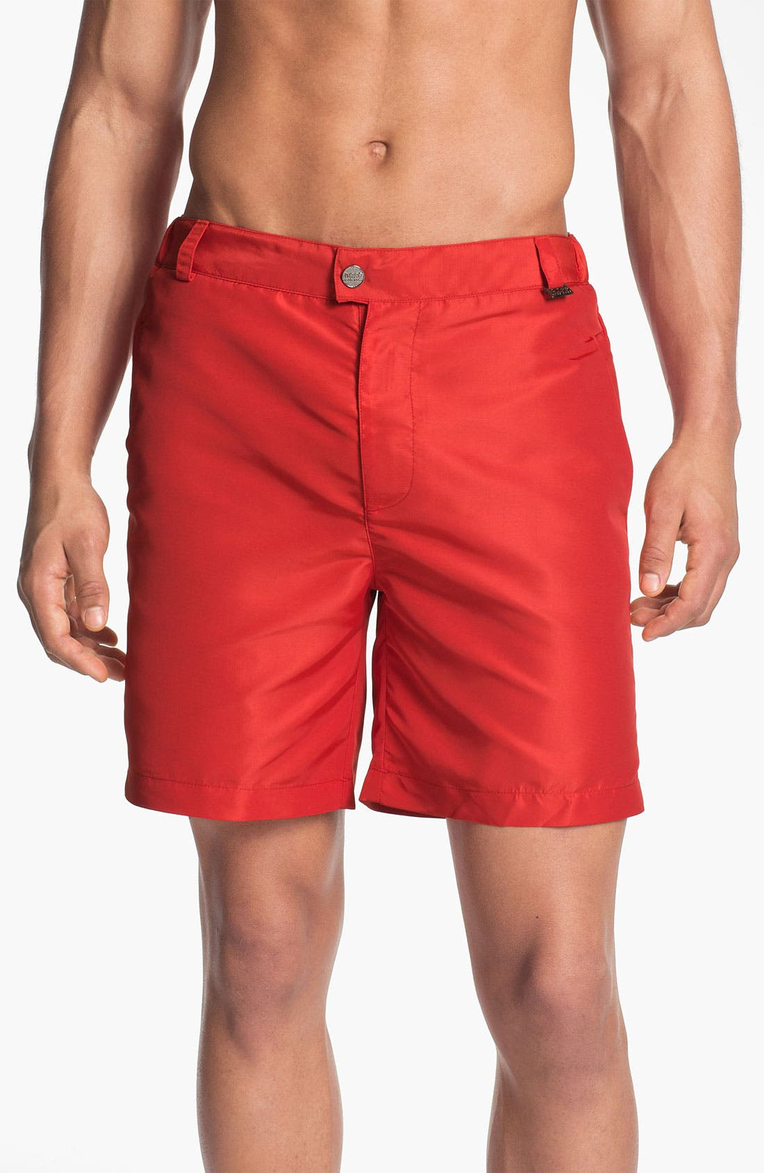Alternate Image 1 Selected - BOSS HUGO BOSS 'Tigerfish' Volley Swim Shorts (Men)
