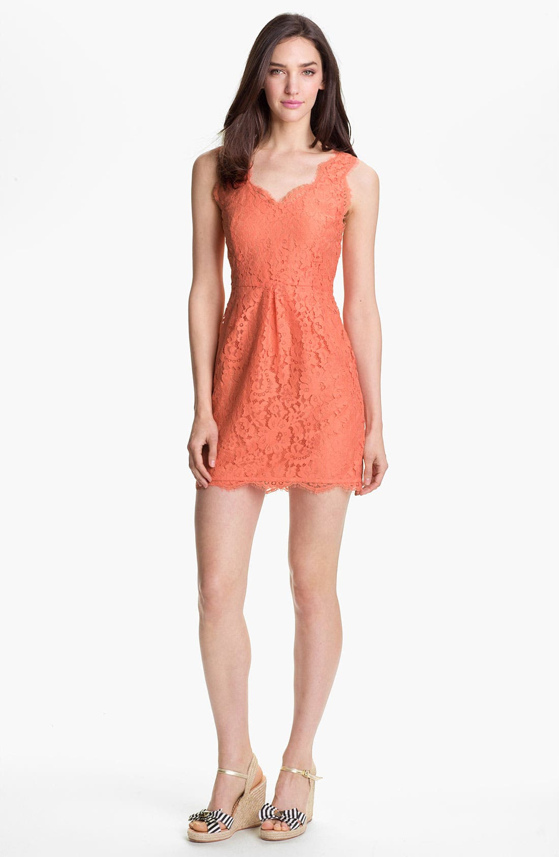 Main Image - Joie 'Rori' Sleeveless Lace Minidress