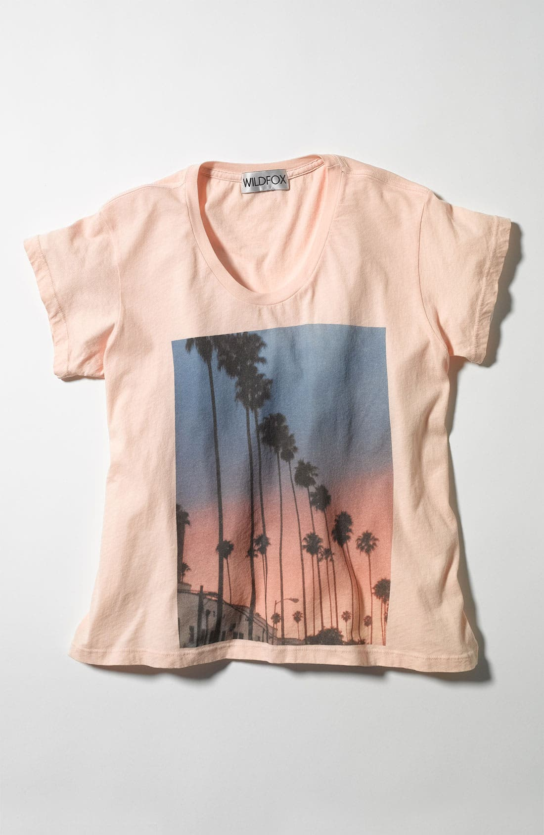 Alternate Image 4  - Wildfox 'Canyon Palms' Tee (Nordstrom Exclusive)