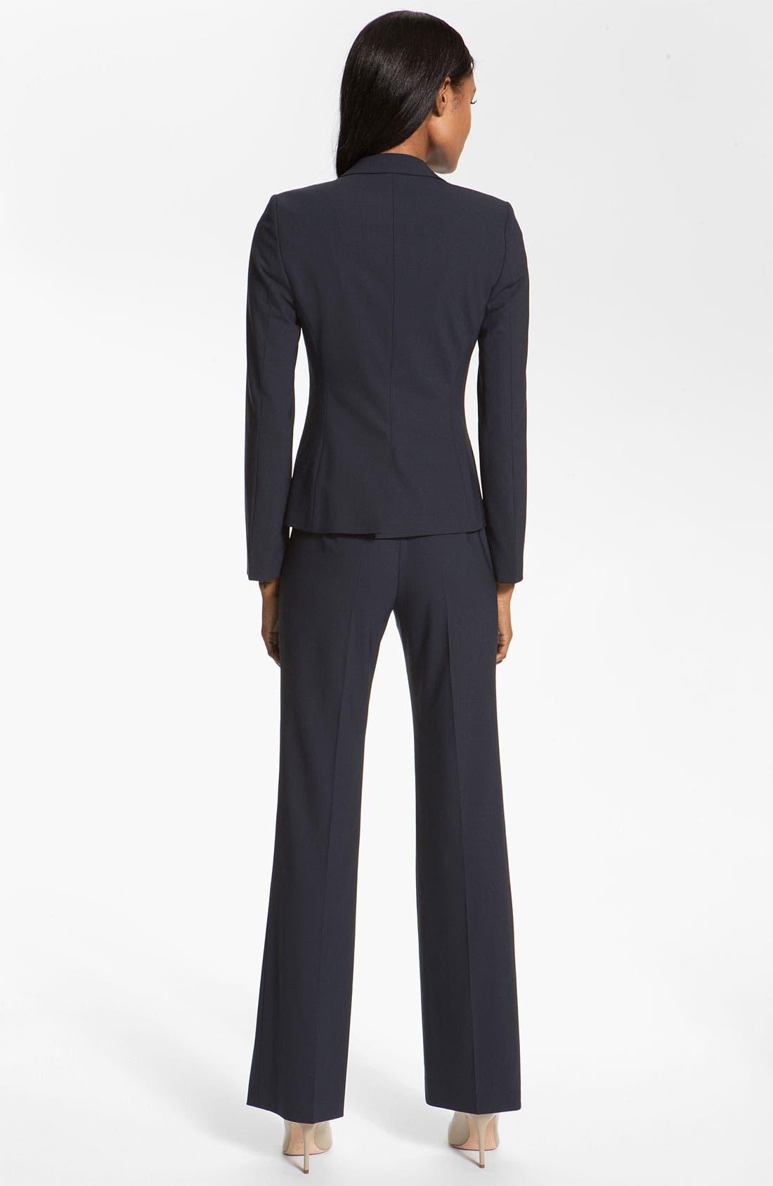 Alternate Image 3  - BOSS 'Tuliana 2' Stretch Wool Trousers