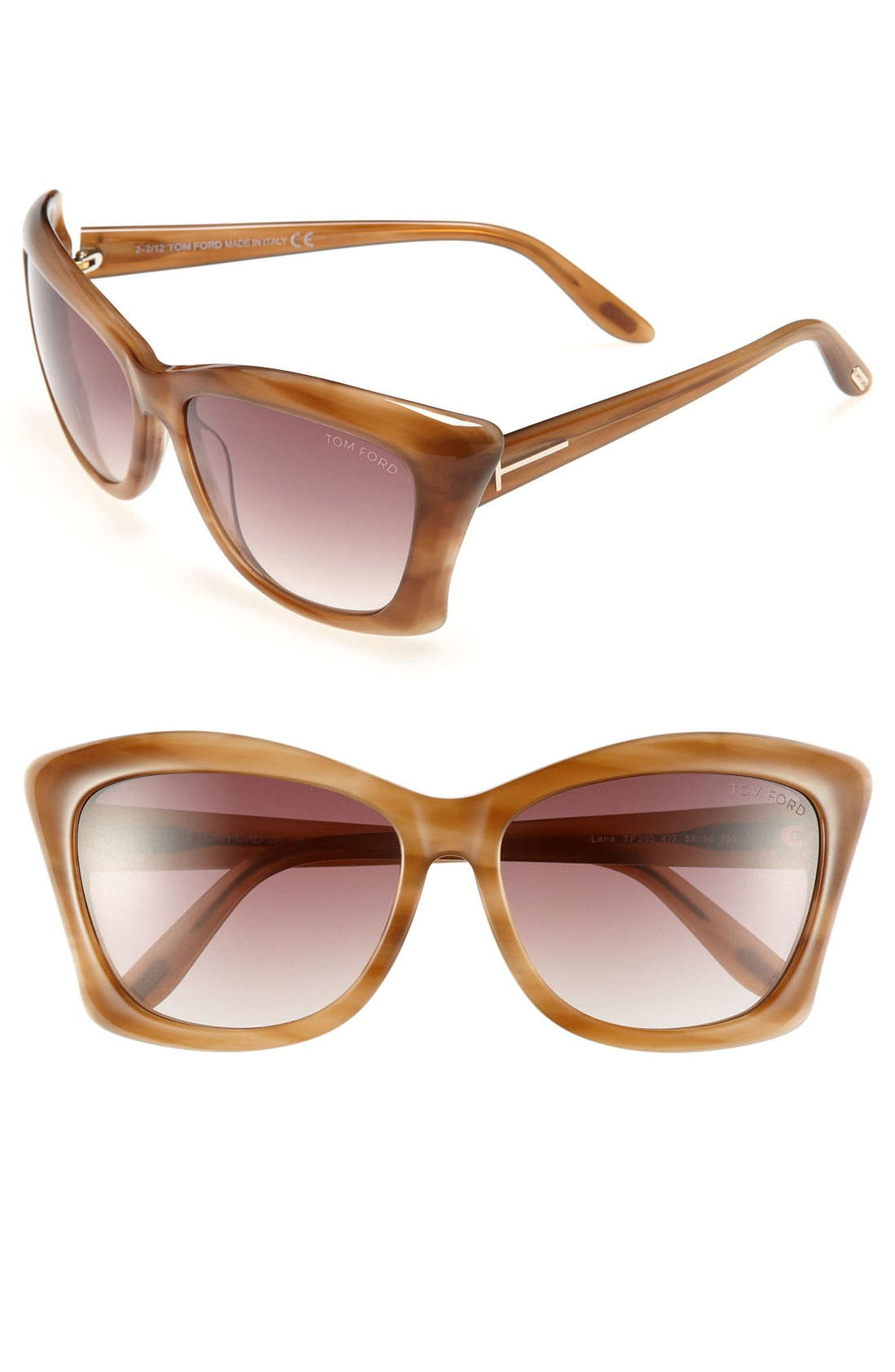 Alternate Image 1 Selected - Tom Ford 'Lana' 59mm Sunglasses