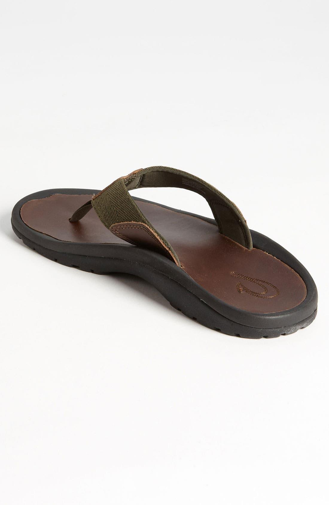 Alternate Image 2  - OluKai 'Kalo' Flip Flop (Men)