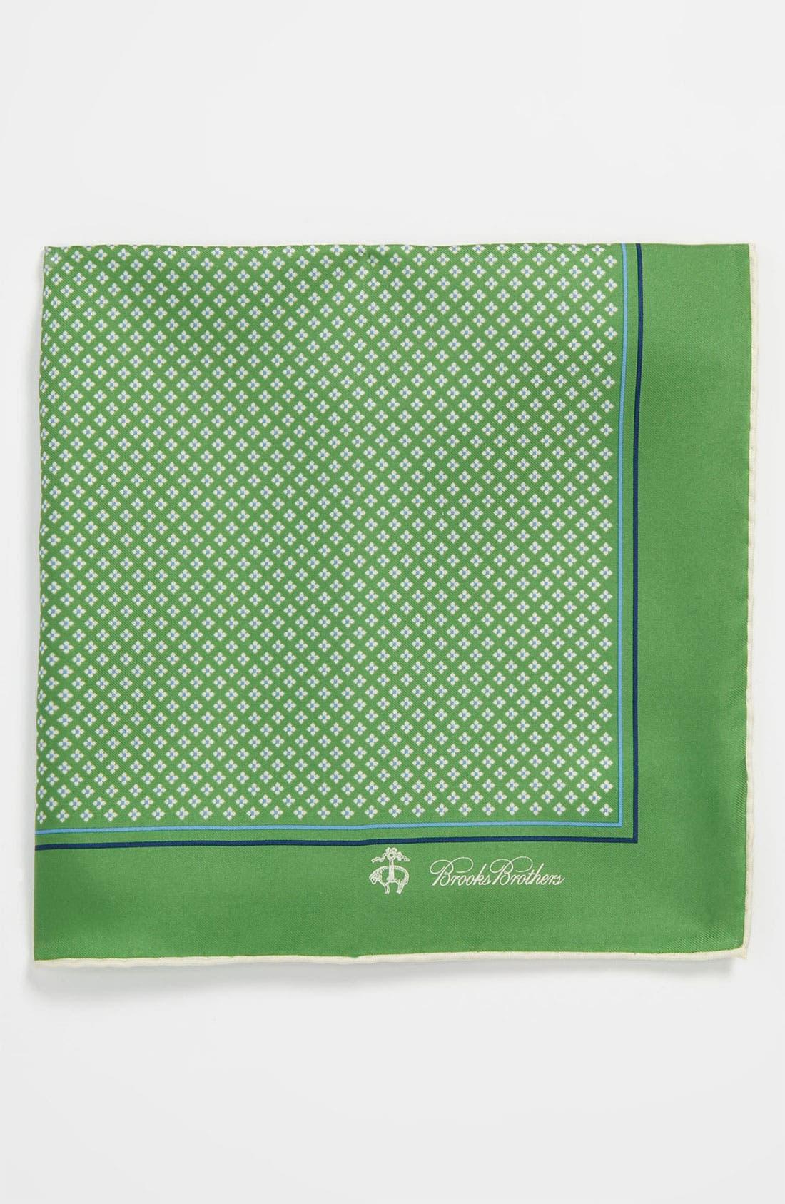 Main Image - Brooks Brothers Silk Pocket Square