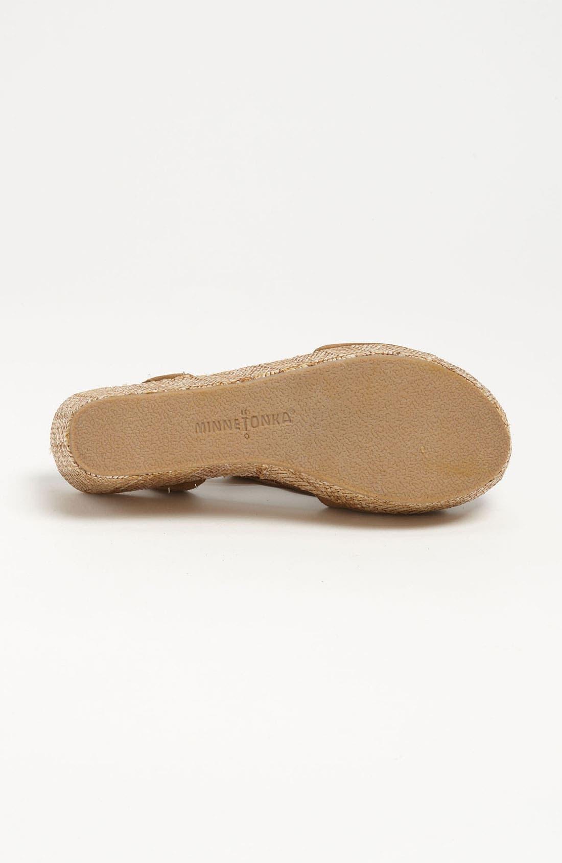 Alternate Image 4  - Minnetonka 'Central' Sandal