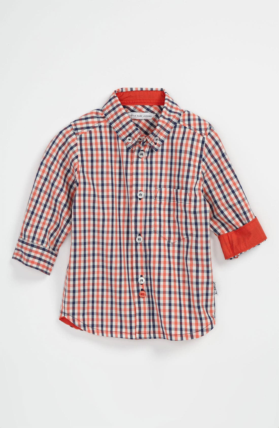 Alternate Image 1 Selected - LITTLE MARC JACOBS Woven Shirt (Baby)