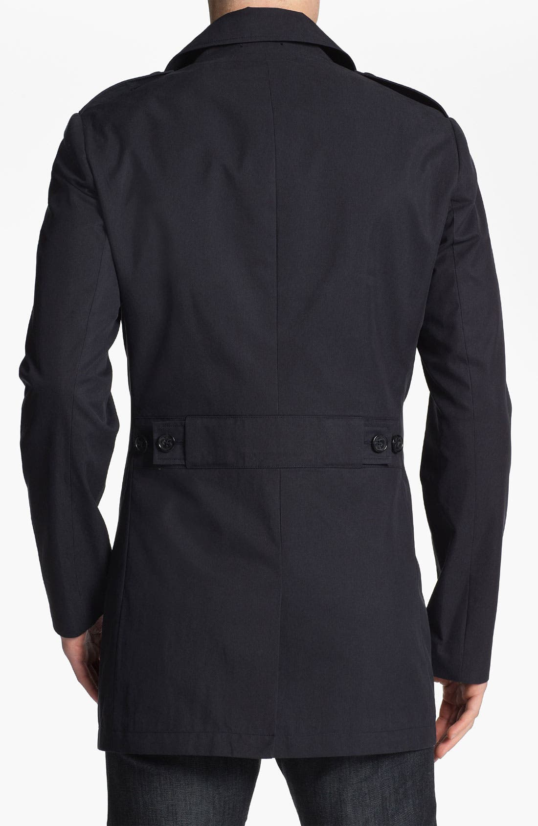 Alternate Image 2  - Michael Kors Double Breasted Peacoat