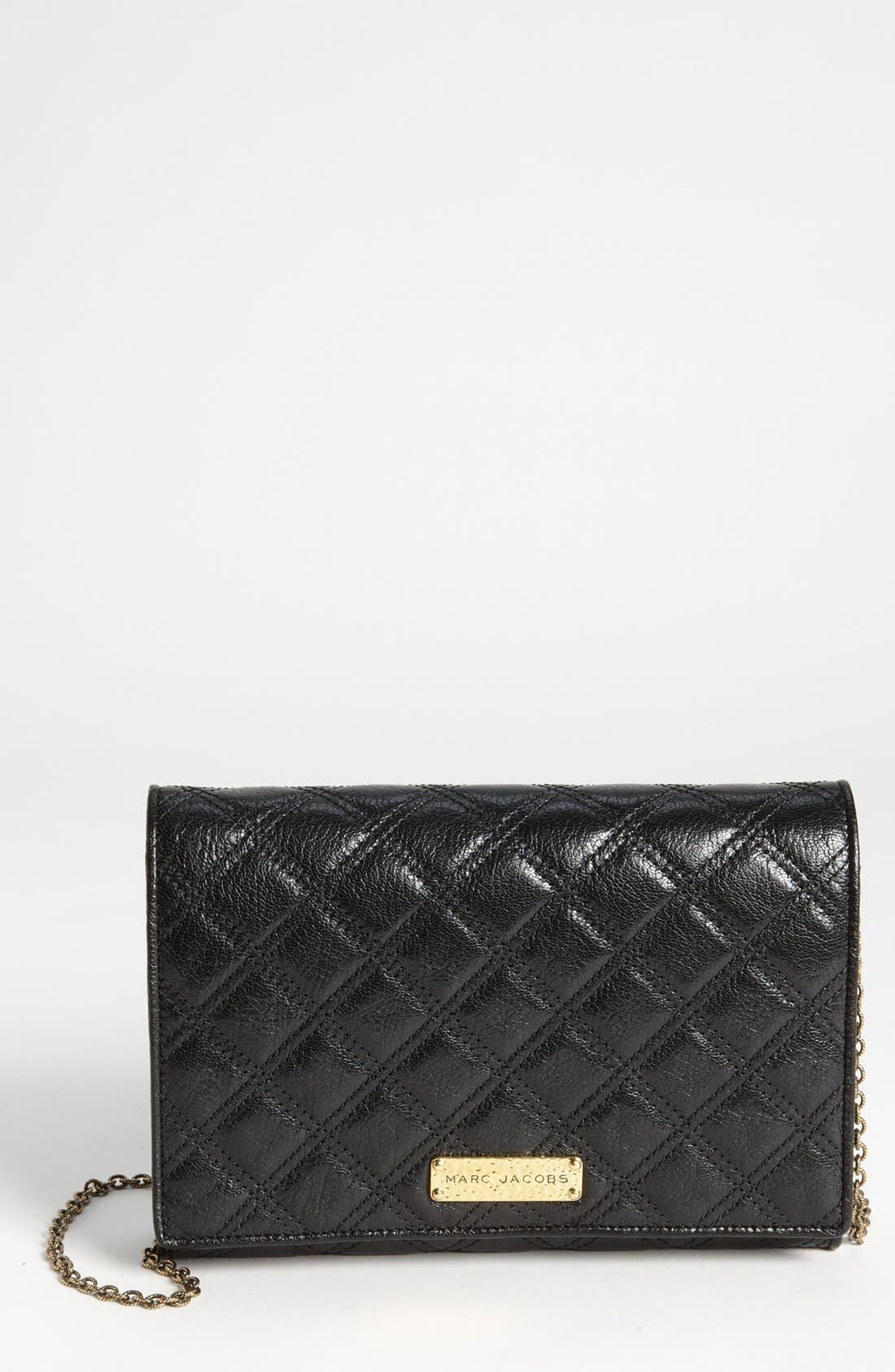 Alternate Image 1 Selected - MARC JACOBS 'Baroque All In One' Leather Shoulder Bag