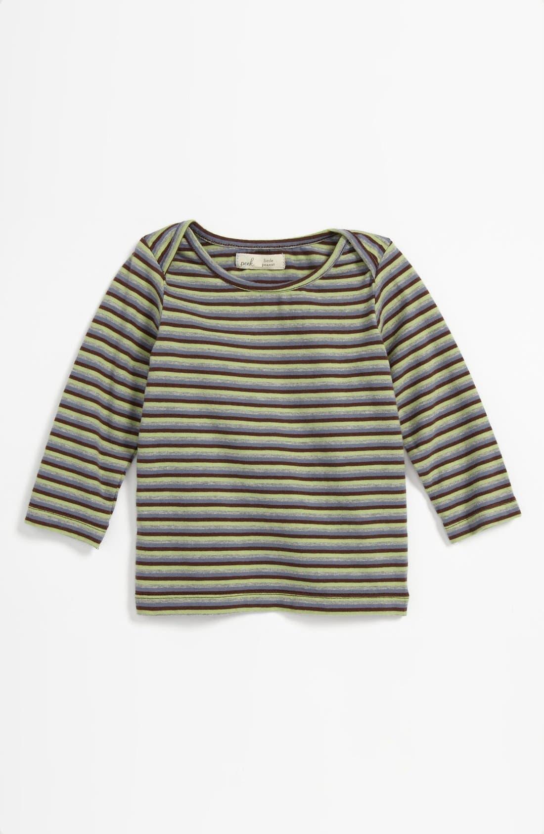 Main Image - Peek 'Little Peanut - Alphie' T-Shirt (Baby)