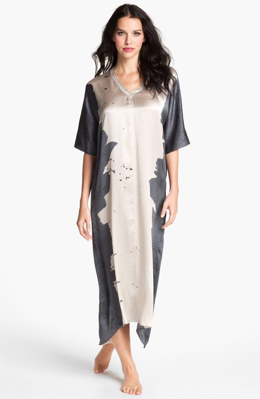 Alternate Image 1 Selected - Donna Karan 'Glamour' Silk Caftan