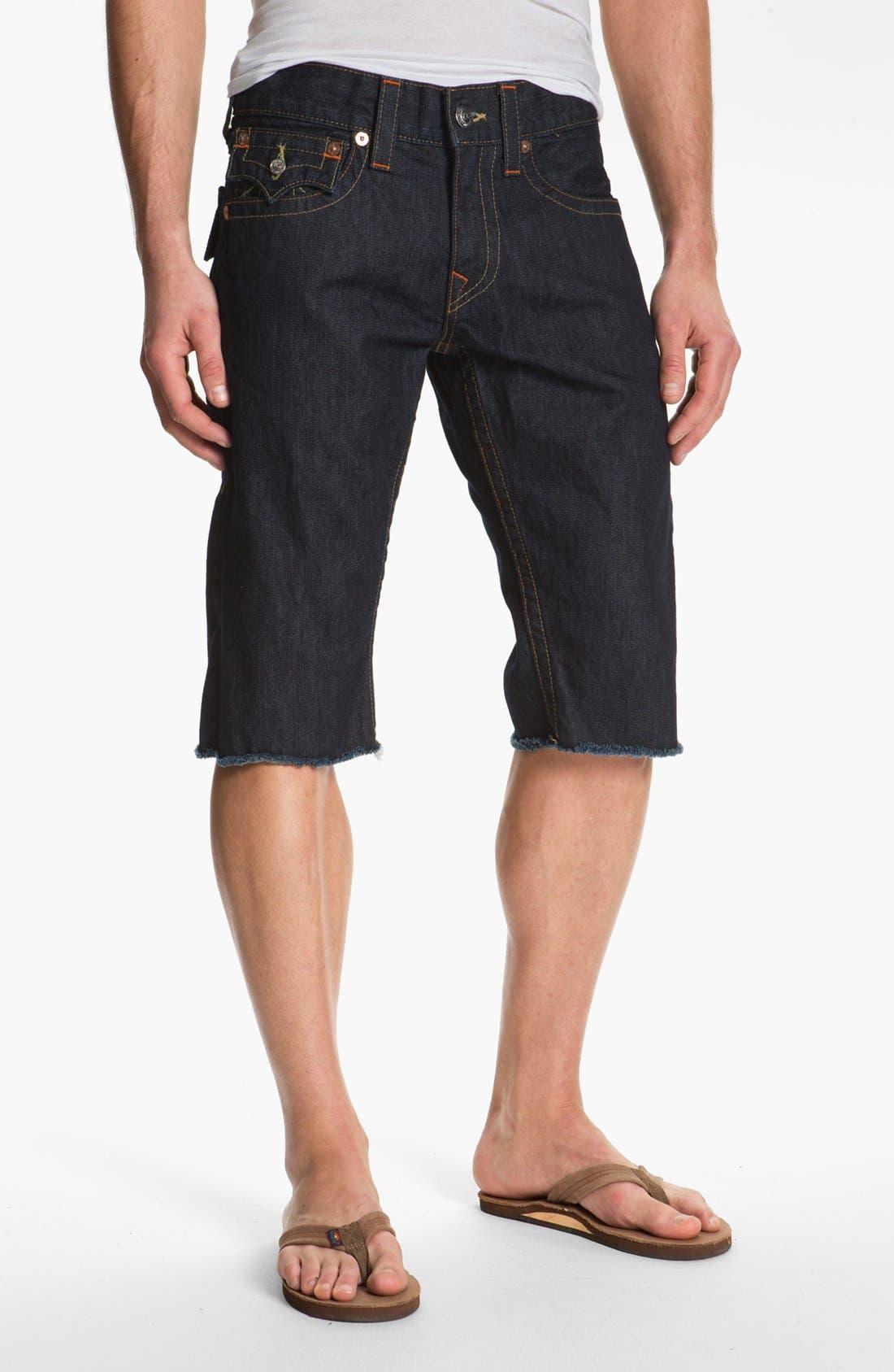 Alternate Image 2  - True Religion Brand Jeans 'Ricky' Cut Off Denim Shorts