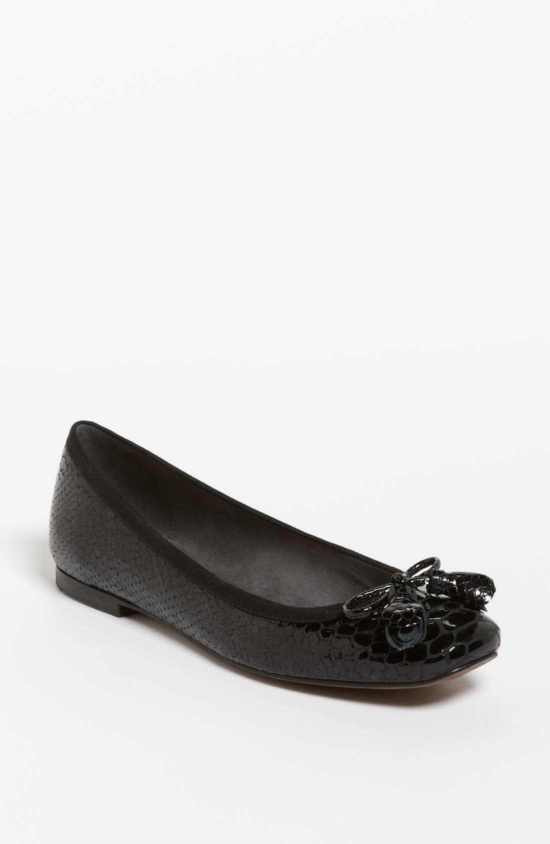 Alternate Image 1 Selected - Stuart Weitzman 'Bowflat' Ballet Flat