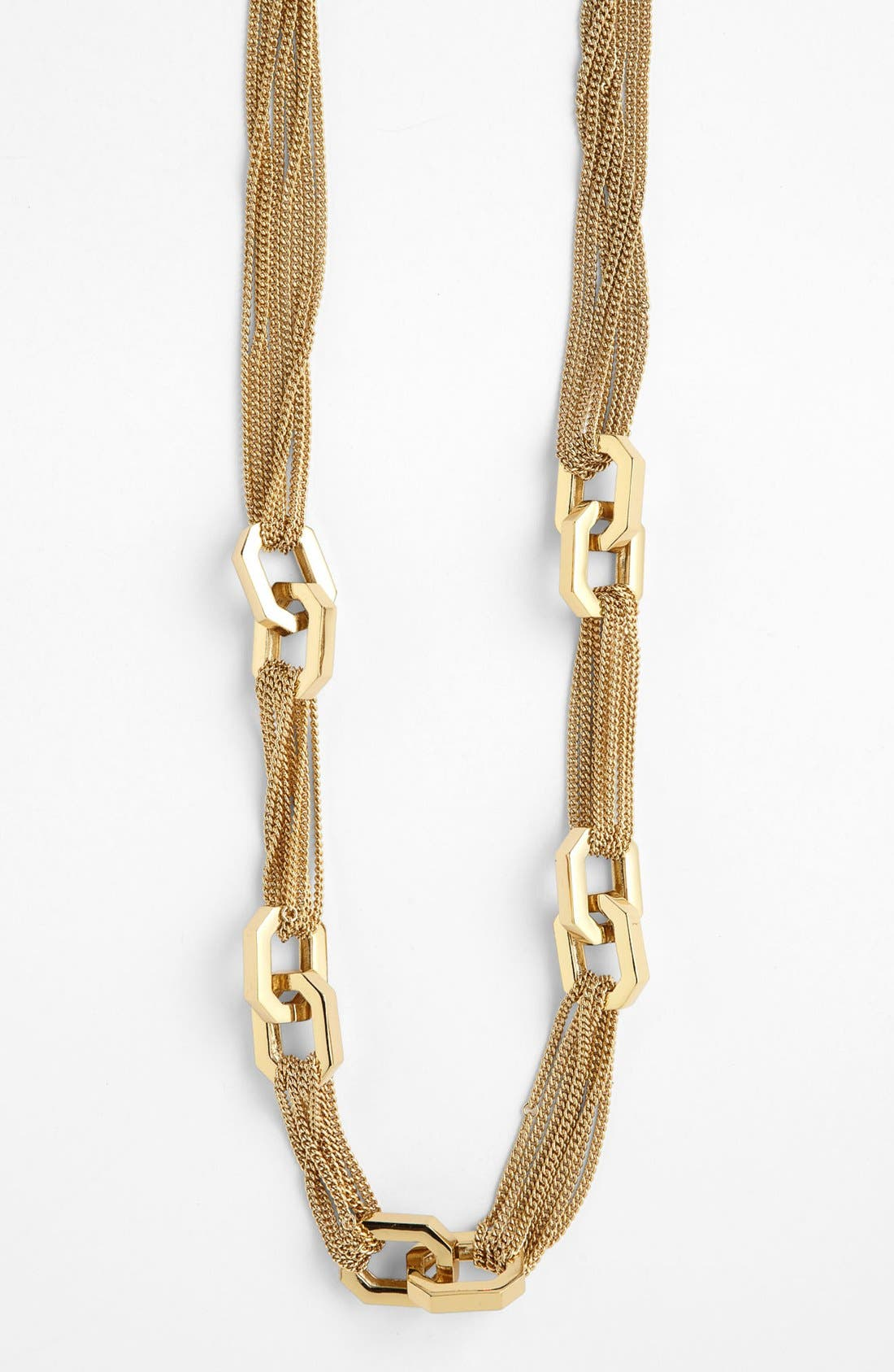 Alternate Image 1 Selected - Vince Camuto 'Modern Links' Chain Necklace