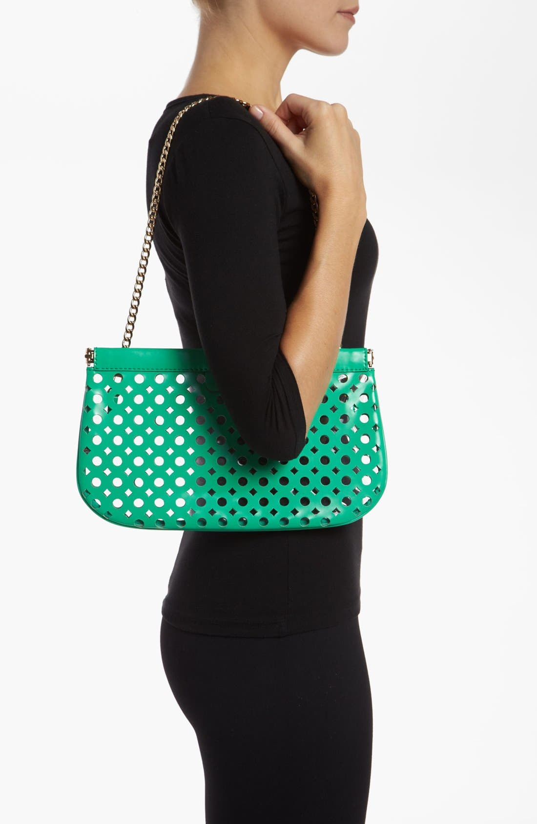 Alternate Image 2  - Milly 'Addison Facile' Patent Leather Clutch