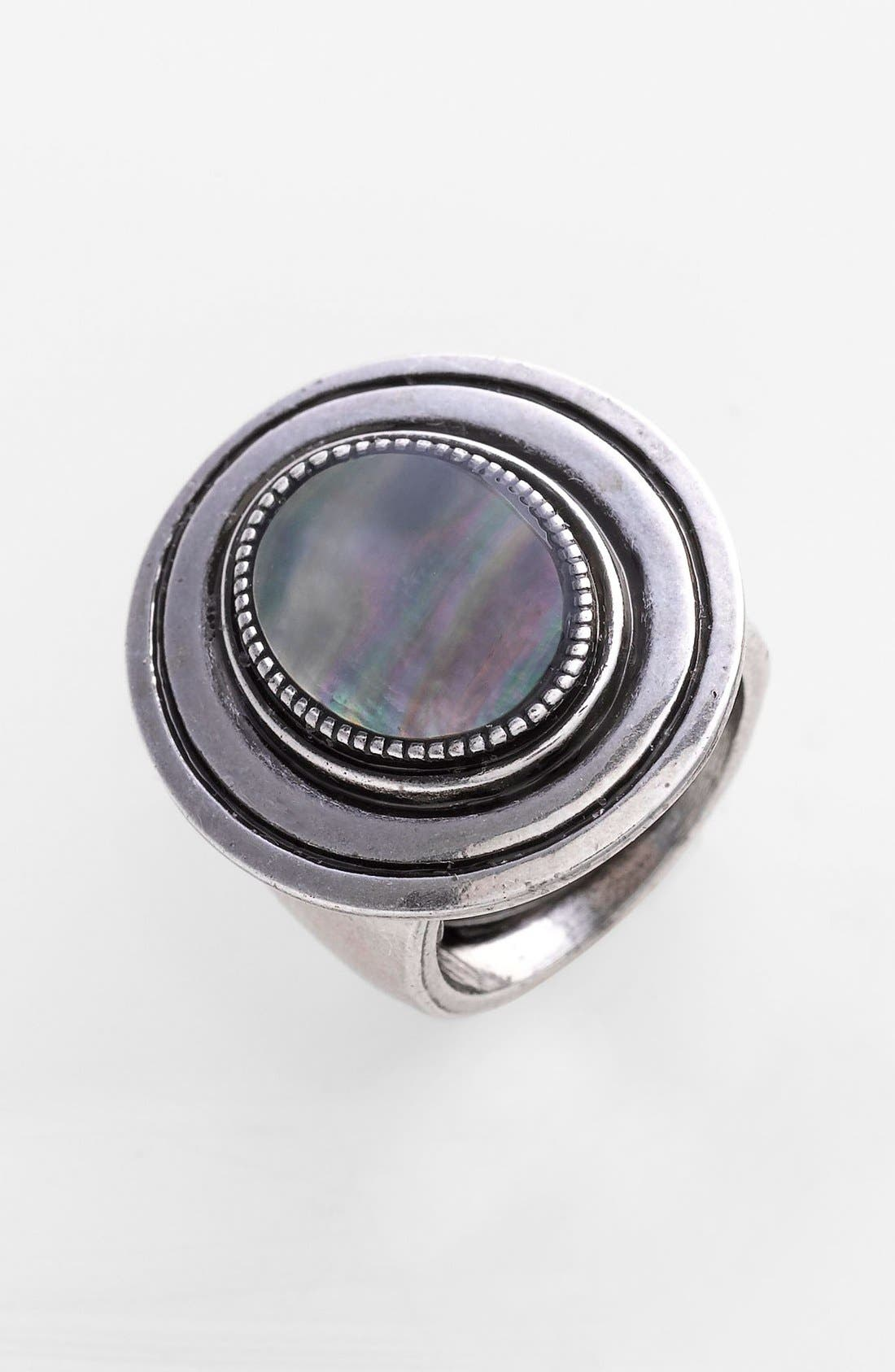 Alternate Image 1 Selected - Spring Street Mother of Pearl Ring