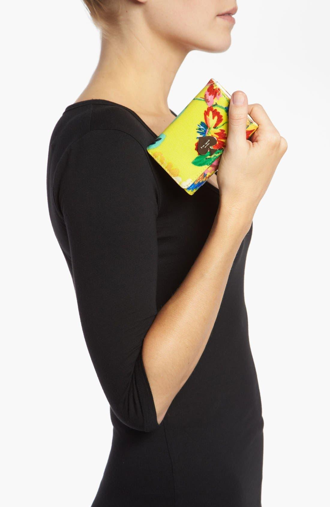 Alternate Image 4  - kate spade new york 'flicker - darla' french wallet