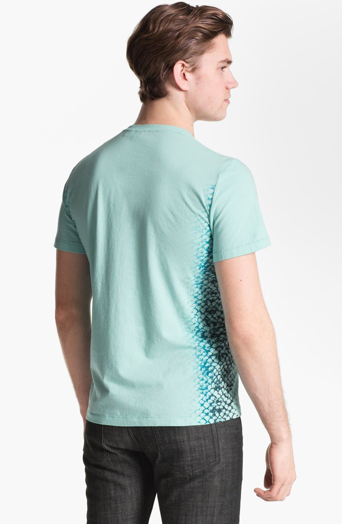 Alternate Image 2  - Just Cavalli Graphic V-Neck T-Shirt