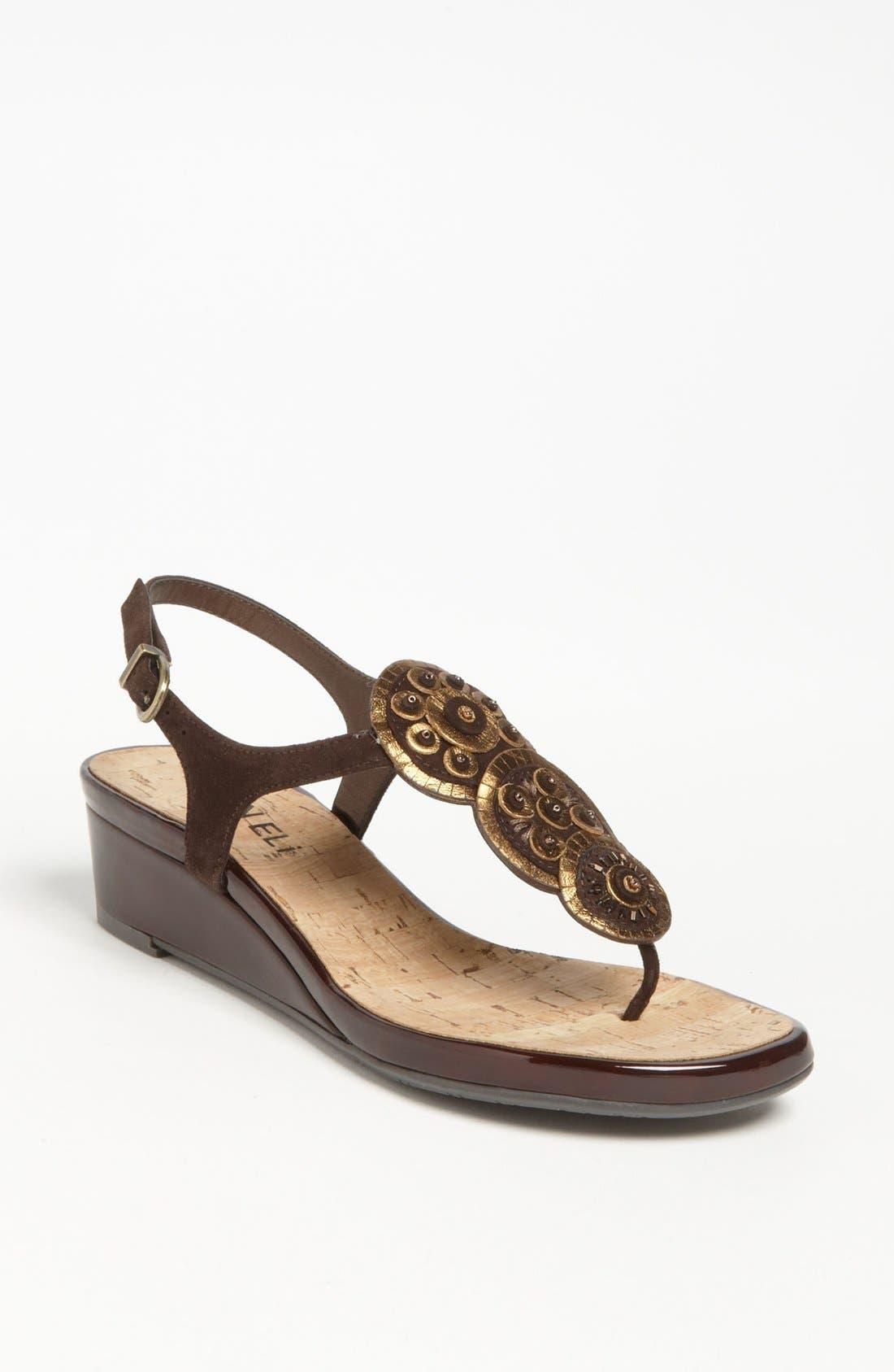 Alternate Image 1 Selected - VANELi 'Kalinda' Wedge Sandal