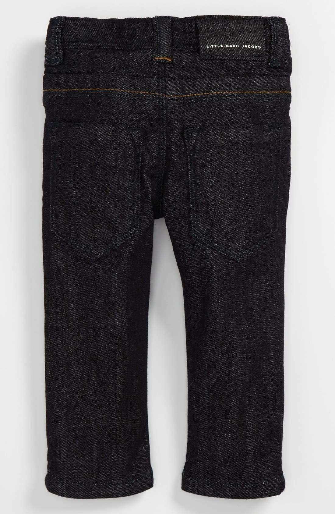Alternate Image 1 Selected - LITTLE MARC JACOBS Slim Fit Jeans (Toddler)