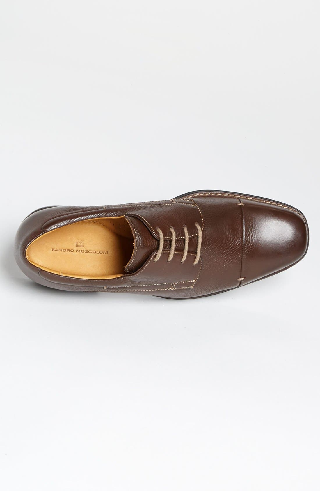 'Gary' Cap Toe Derby,                             Alternate thumbnail 3, color,                             Troy