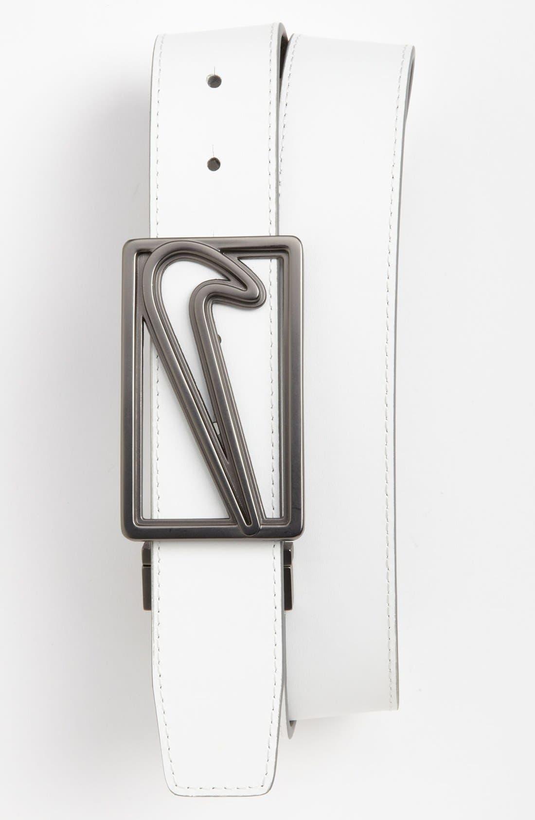 Alternate Image 2  - Nike Golf 'Logo Cutout' Reversible Belt