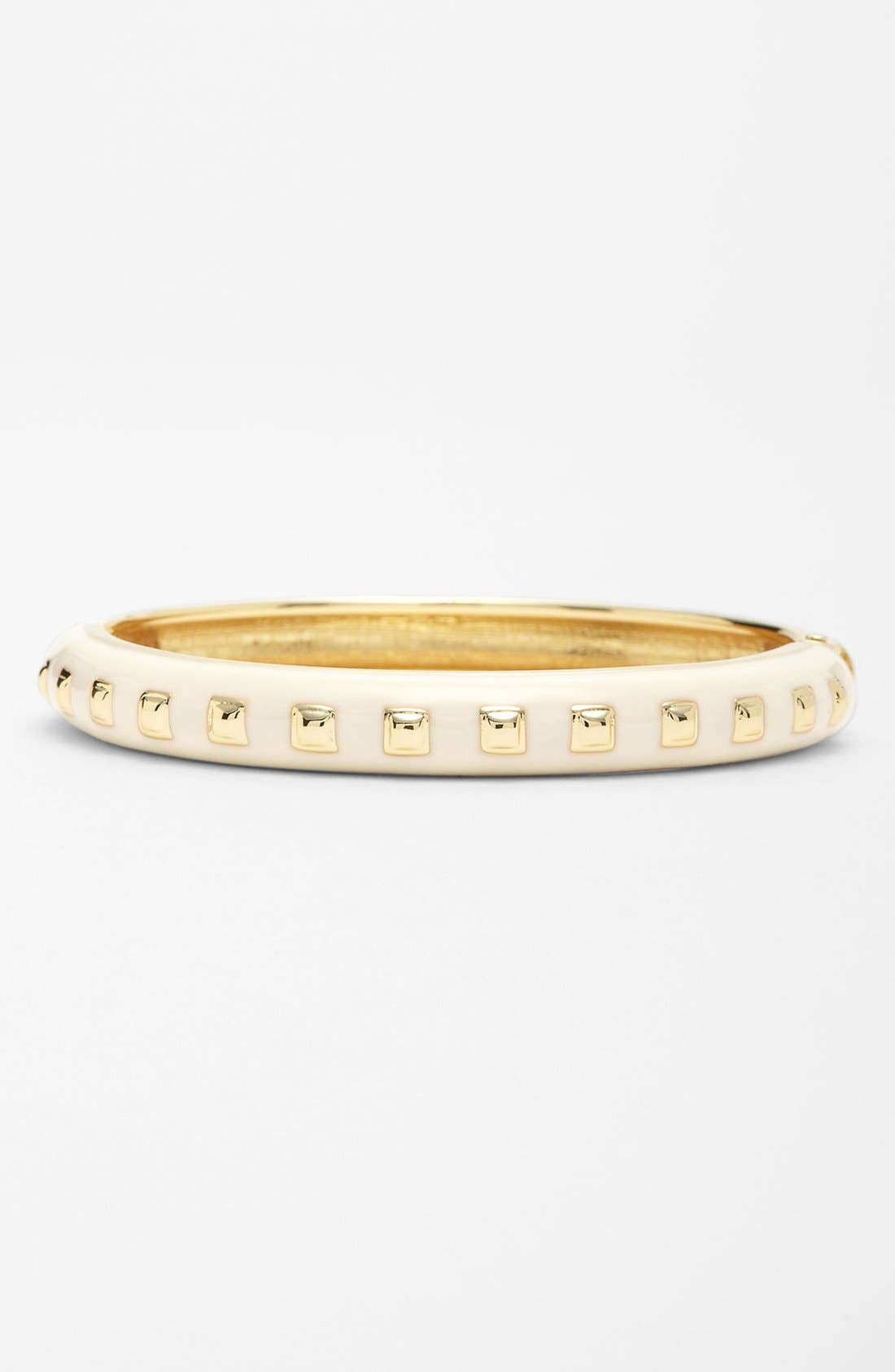 Alternate Image 1 Selected - Adia Kibur 'Squared Stud' Enamel Bangle