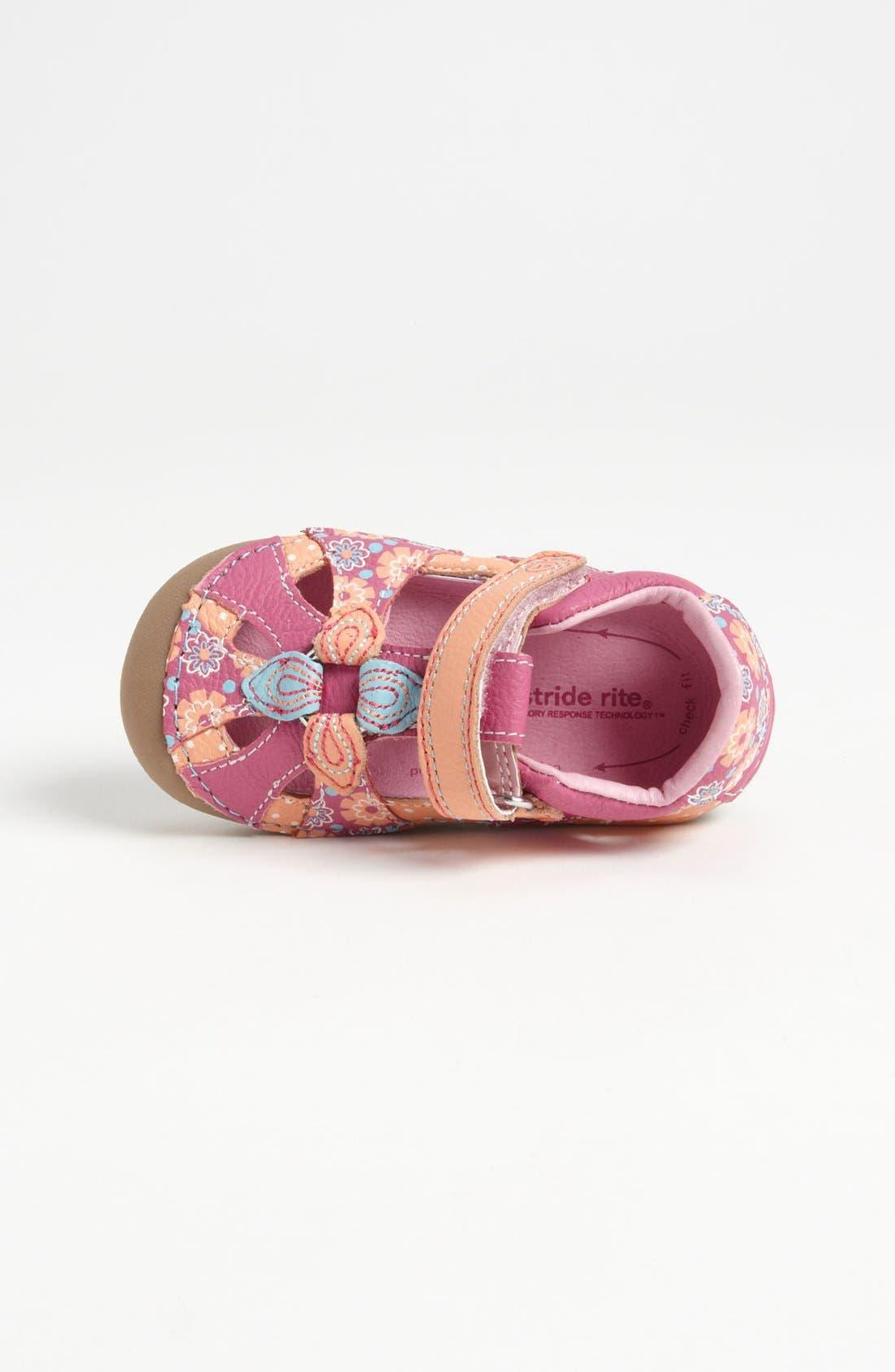 Alternate Image 3  - Stride Rite 'Poppy' Sandal (Baby & Walker)