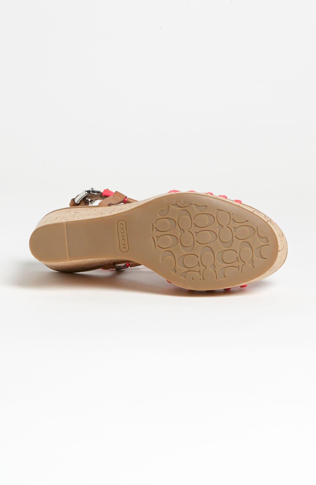 Alternate Image 4  - COACH 'Georgianna' Sandal