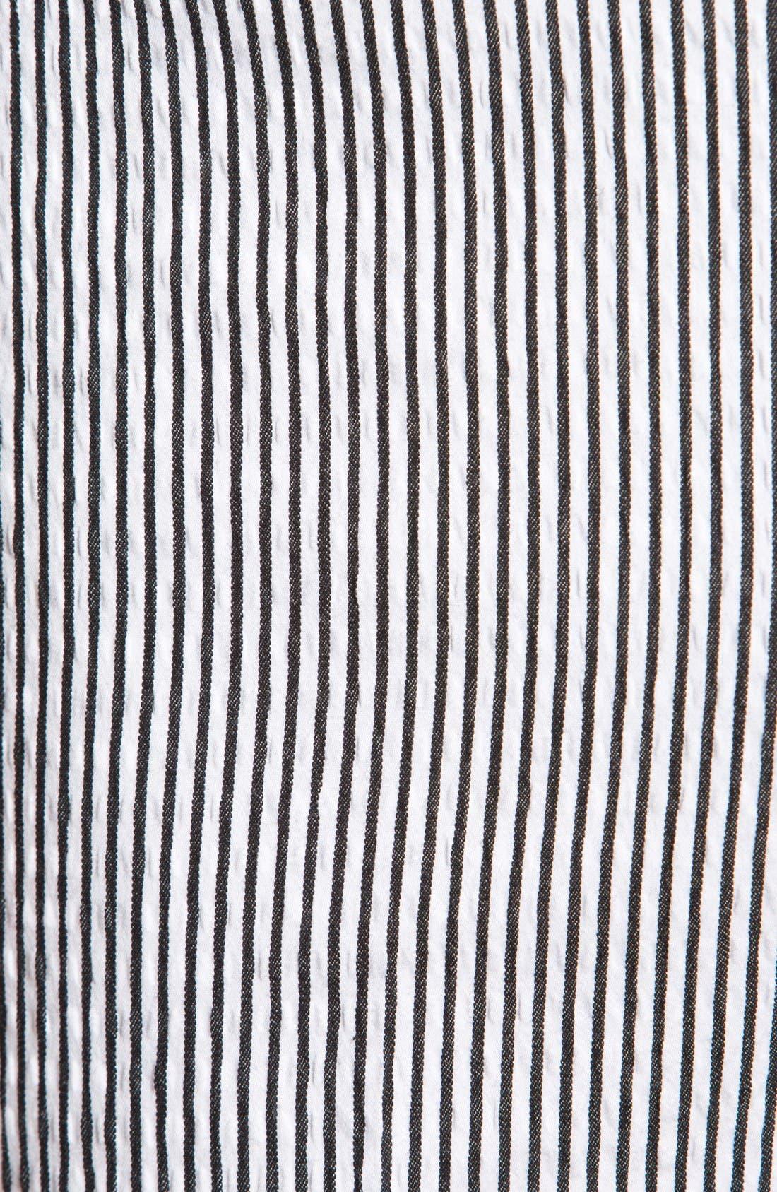 Alternate Image 3  - John Varvatos Star USA Red Label 'Petro' Striped Trousers