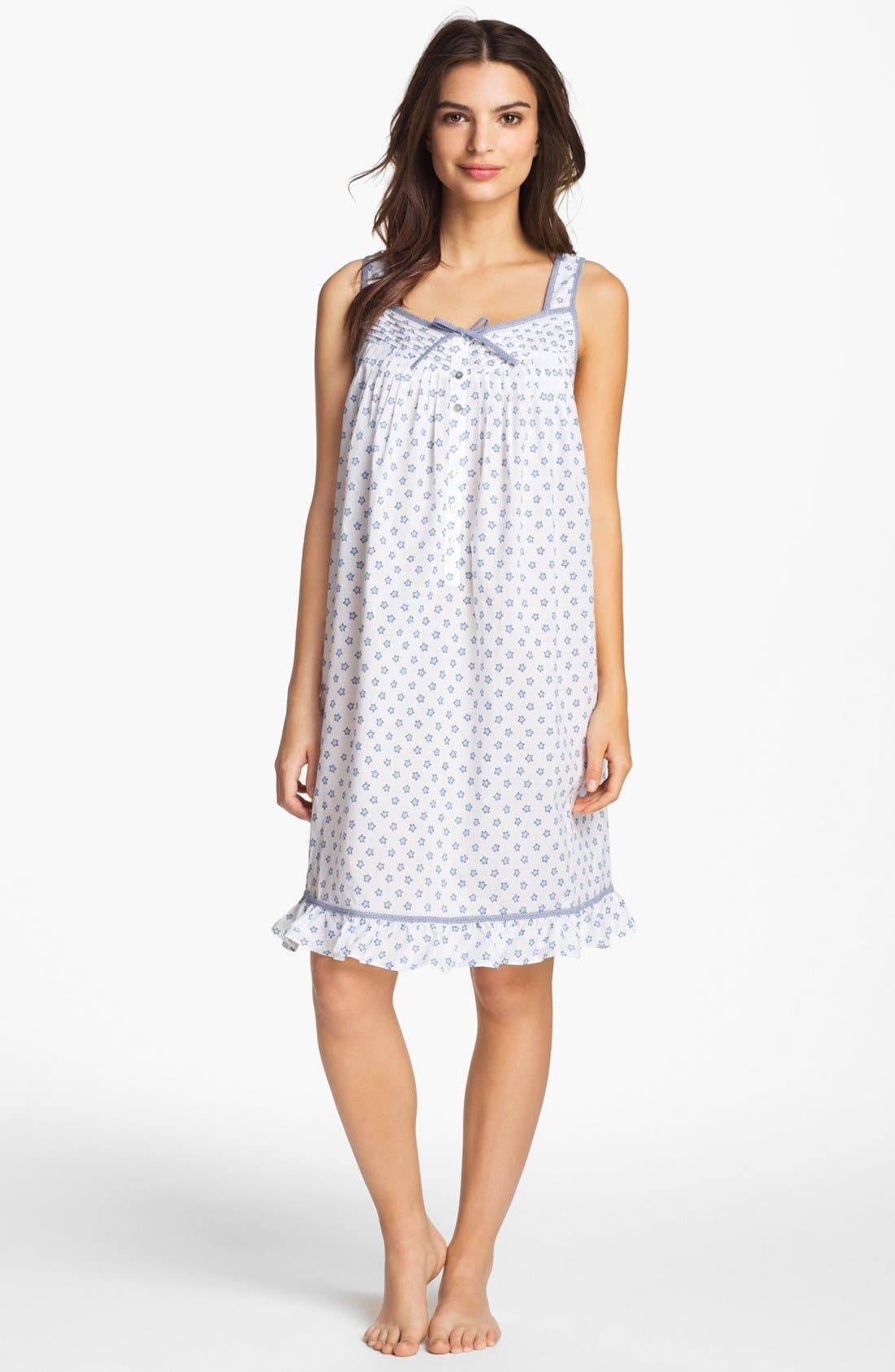 Main Image - Eileen West 'Starfish Cove' Short Nightgown