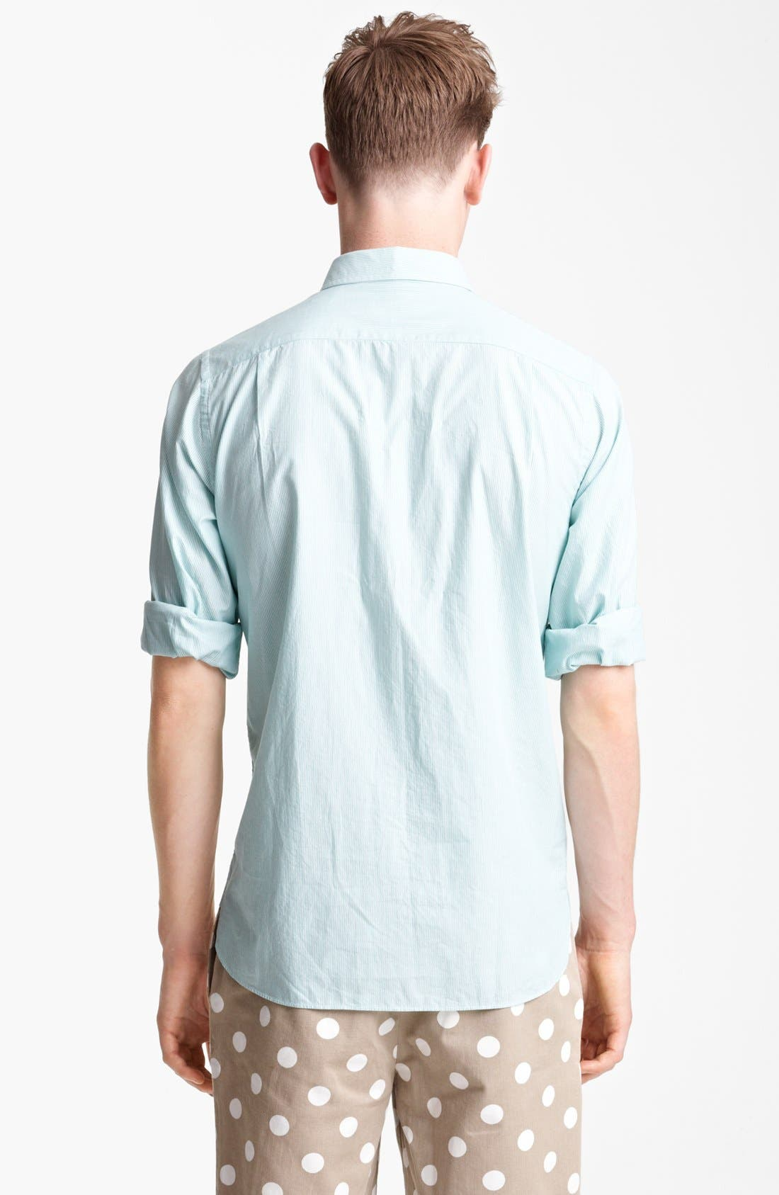 Alternate Image 2  - Jack Spade 'Ortley' Bengal Stripe Cotton Shirt