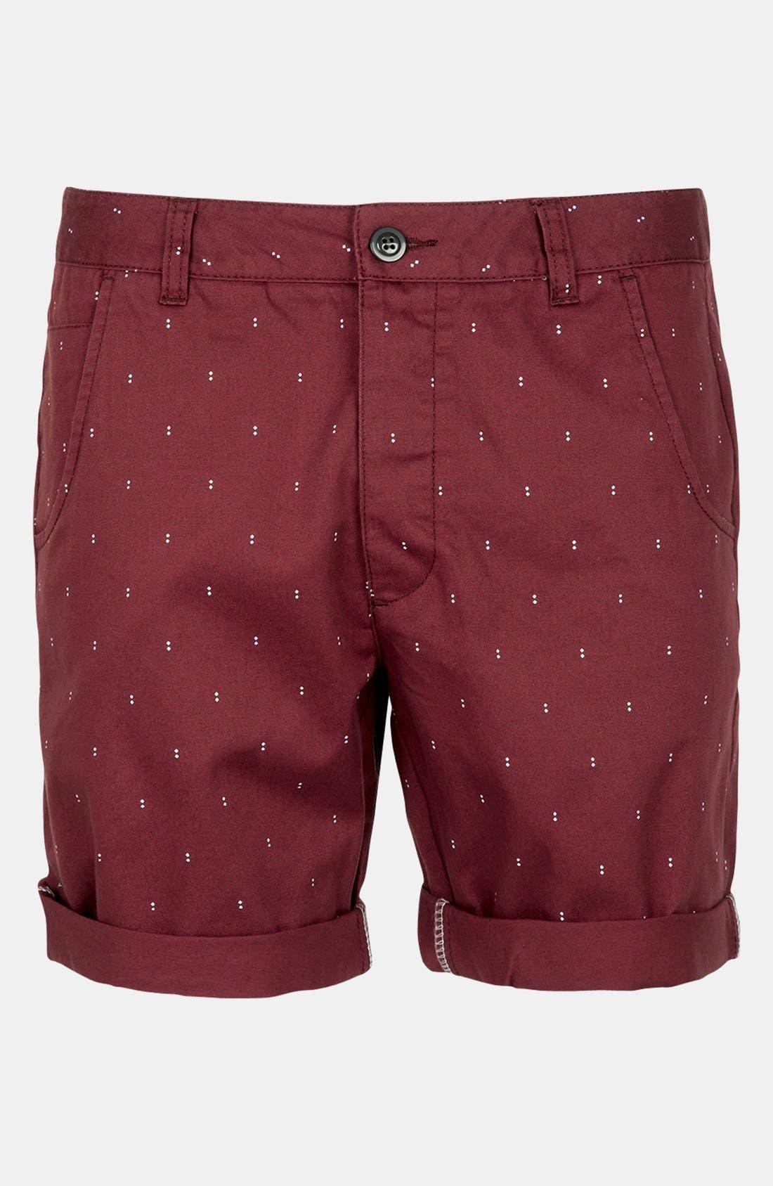 Main Image - Topman Chino Shorts