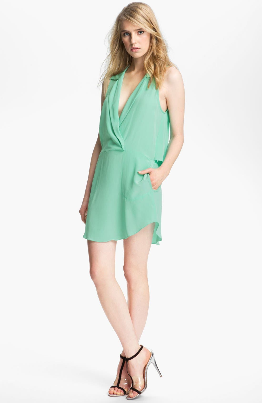 Alternate Image 1 Selected - Tracy Reese Silk Shirtdress