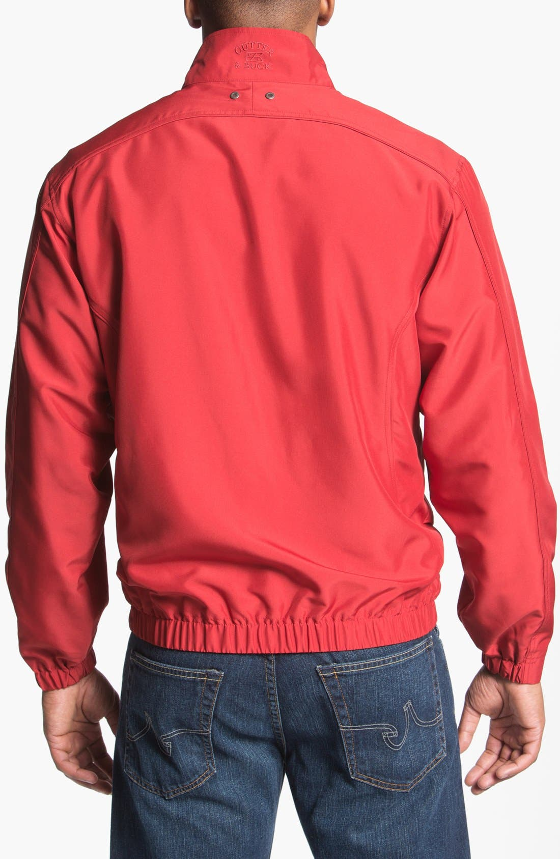 Alternate Image 2  - Cutter & Buck 'Astute' Windbreaker Jacket (Big & Tall)