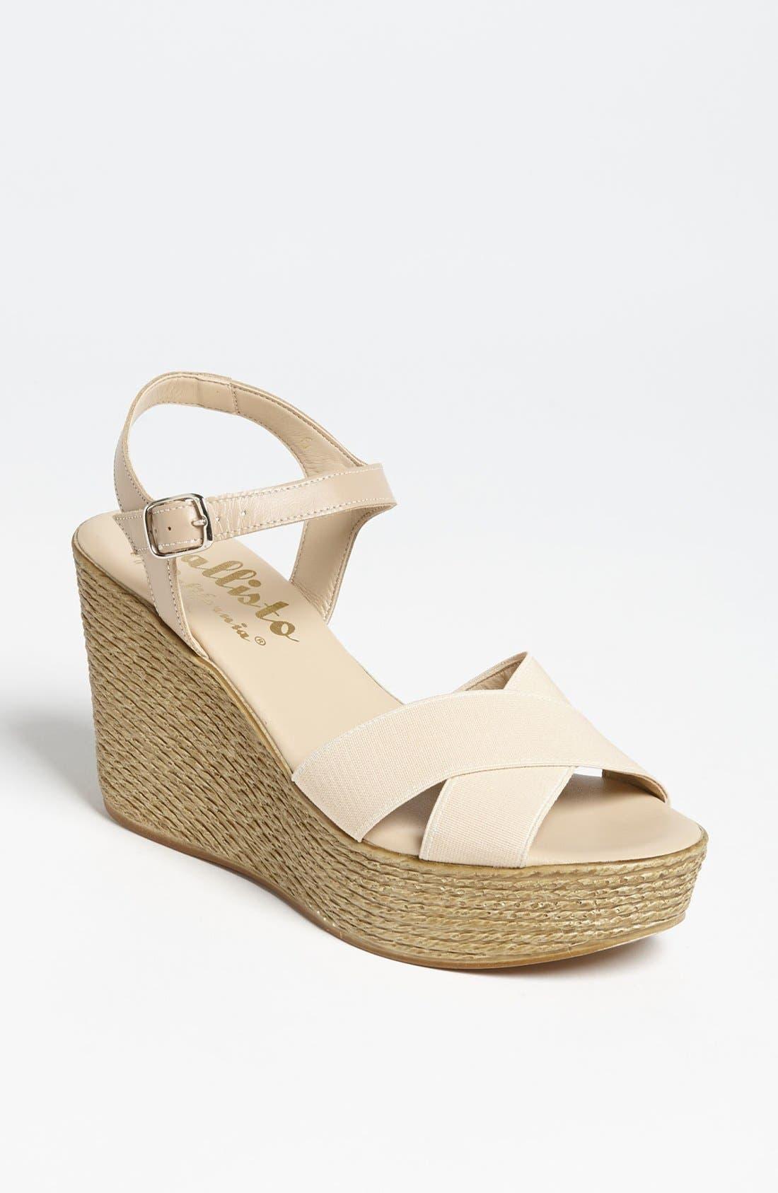 Alternate Image 1 Selected - Callisto 'Olivia' Wedge Sandal