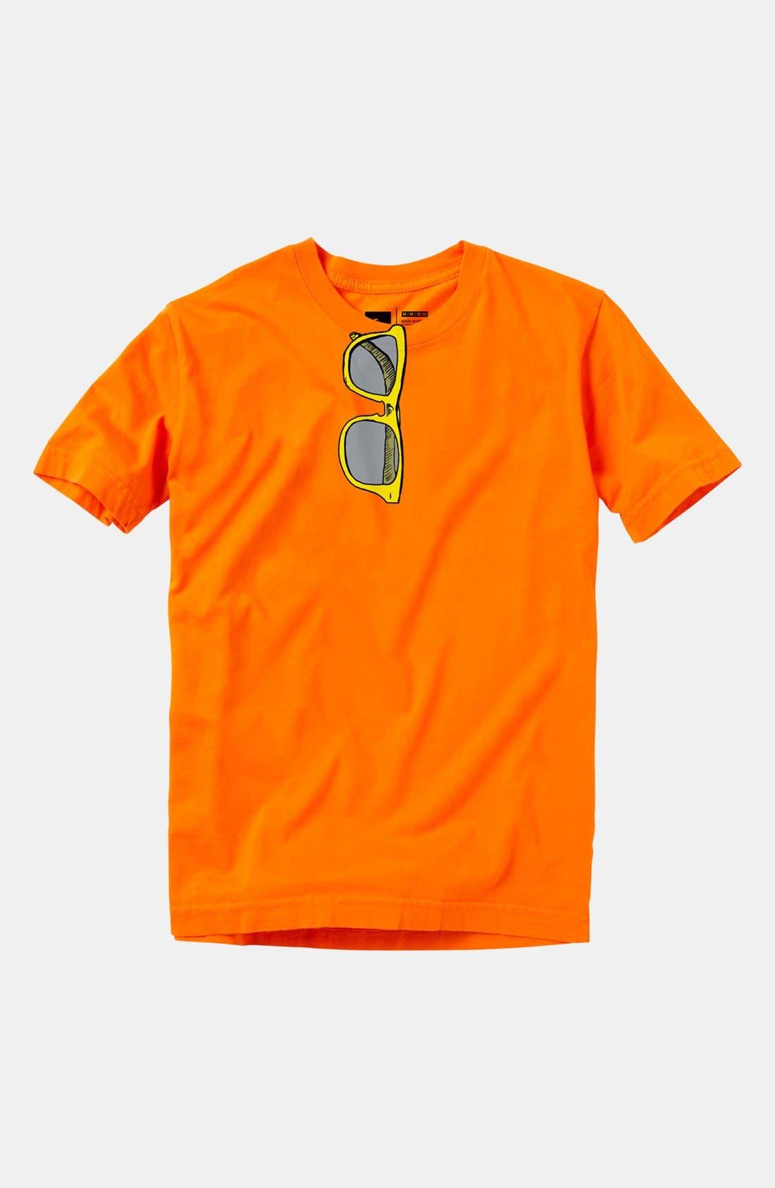 Main Image - Quiksilver 'Specs' T-Shirt (Little Boys)