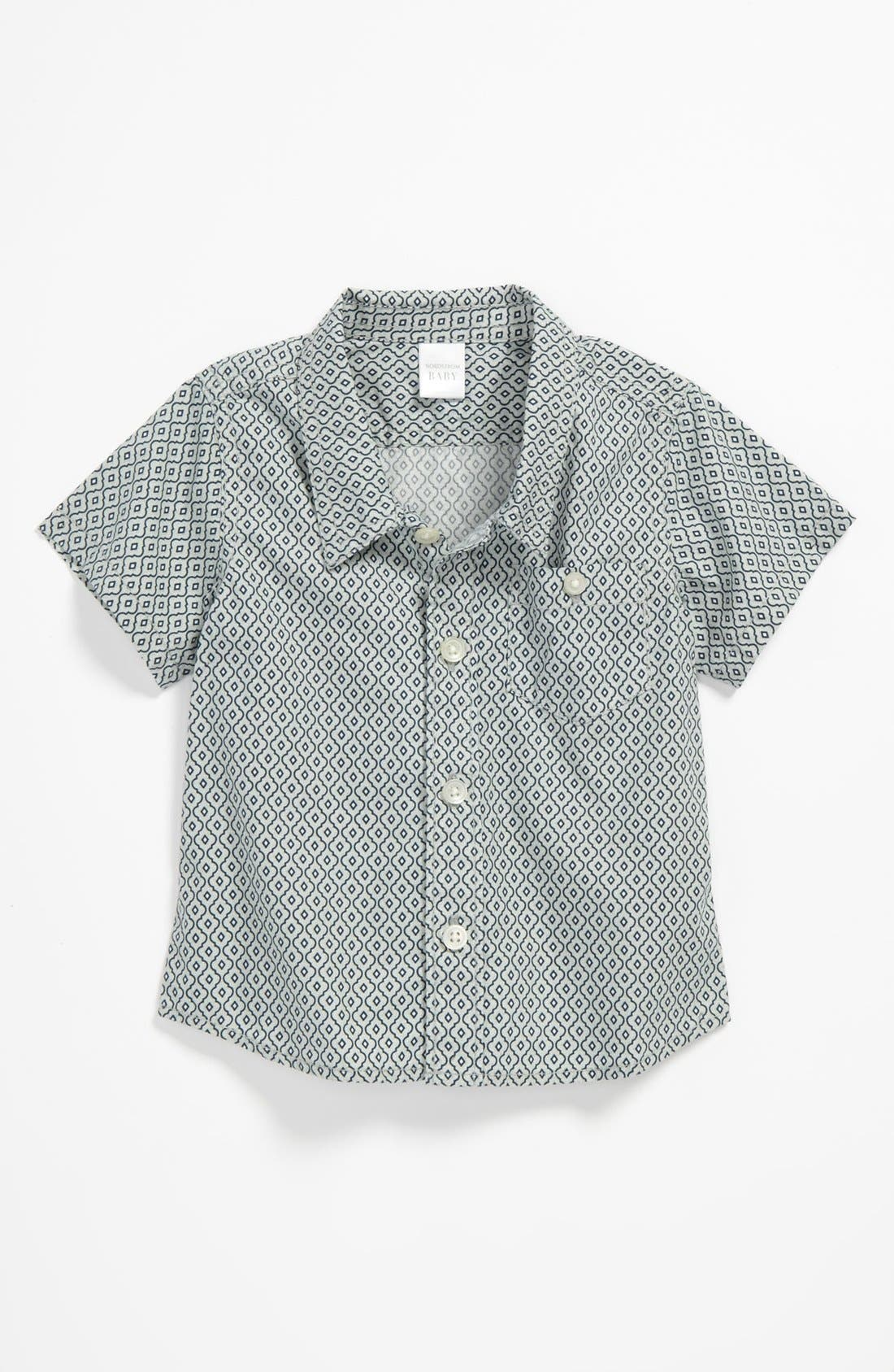 Alternate Image 1 Selected - Nordstrom Baby Woven Shirt (Baby)