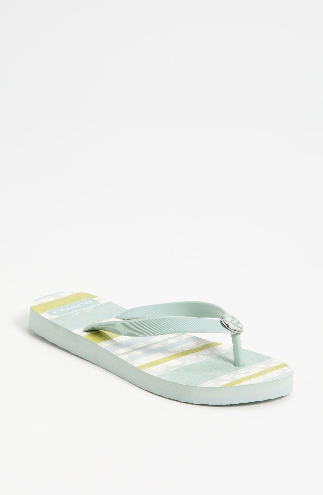 Main Image - COACH 'Alessa' Flip Flop