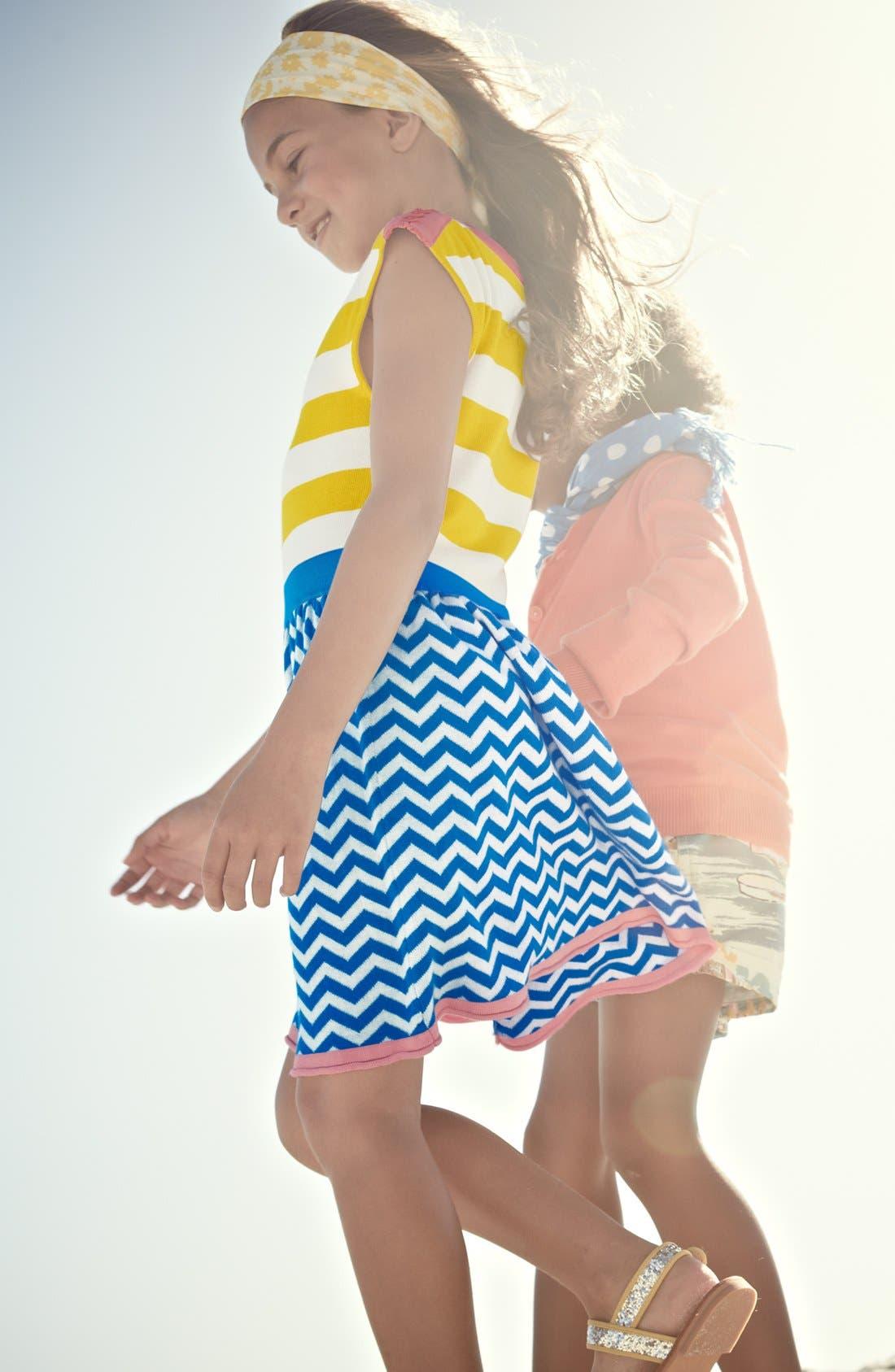 Alternate Image 2  - Mini Boden 'Colorful Summer' Knit Dress (Toddler)