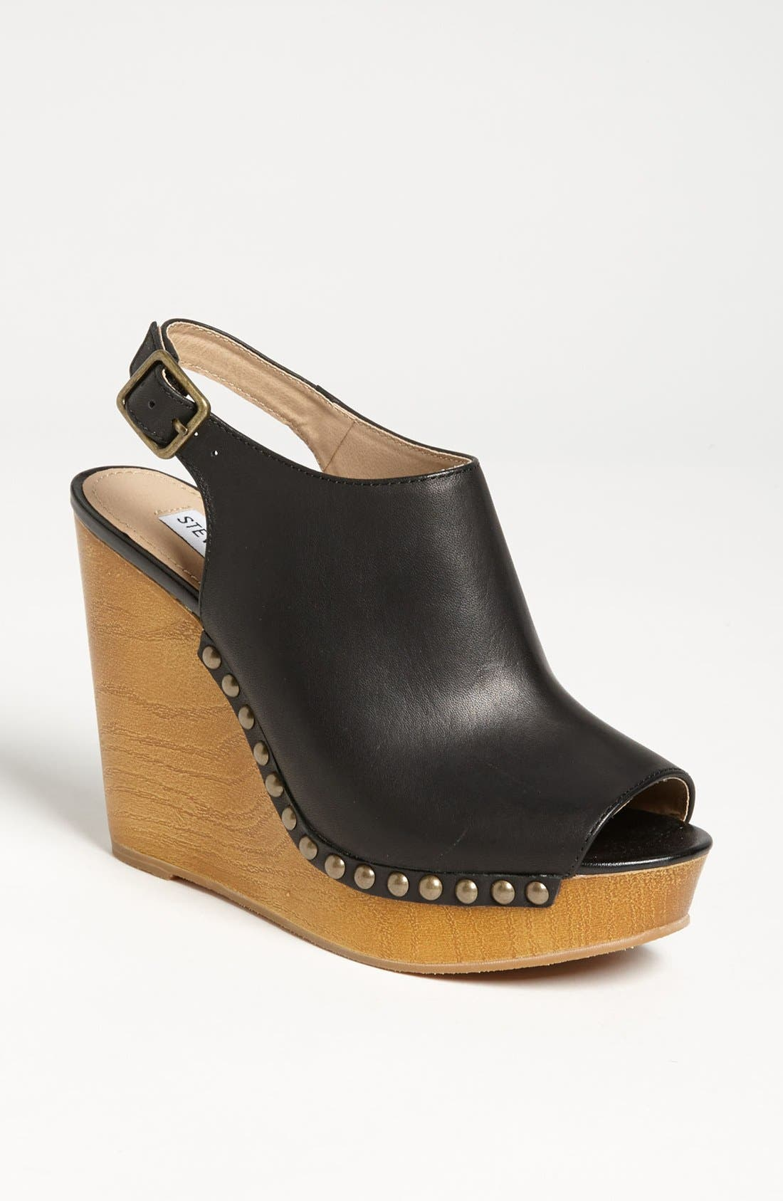Alternate Image 1 Selected - Steve Madden 'Tryffle' Wedge Sandal
