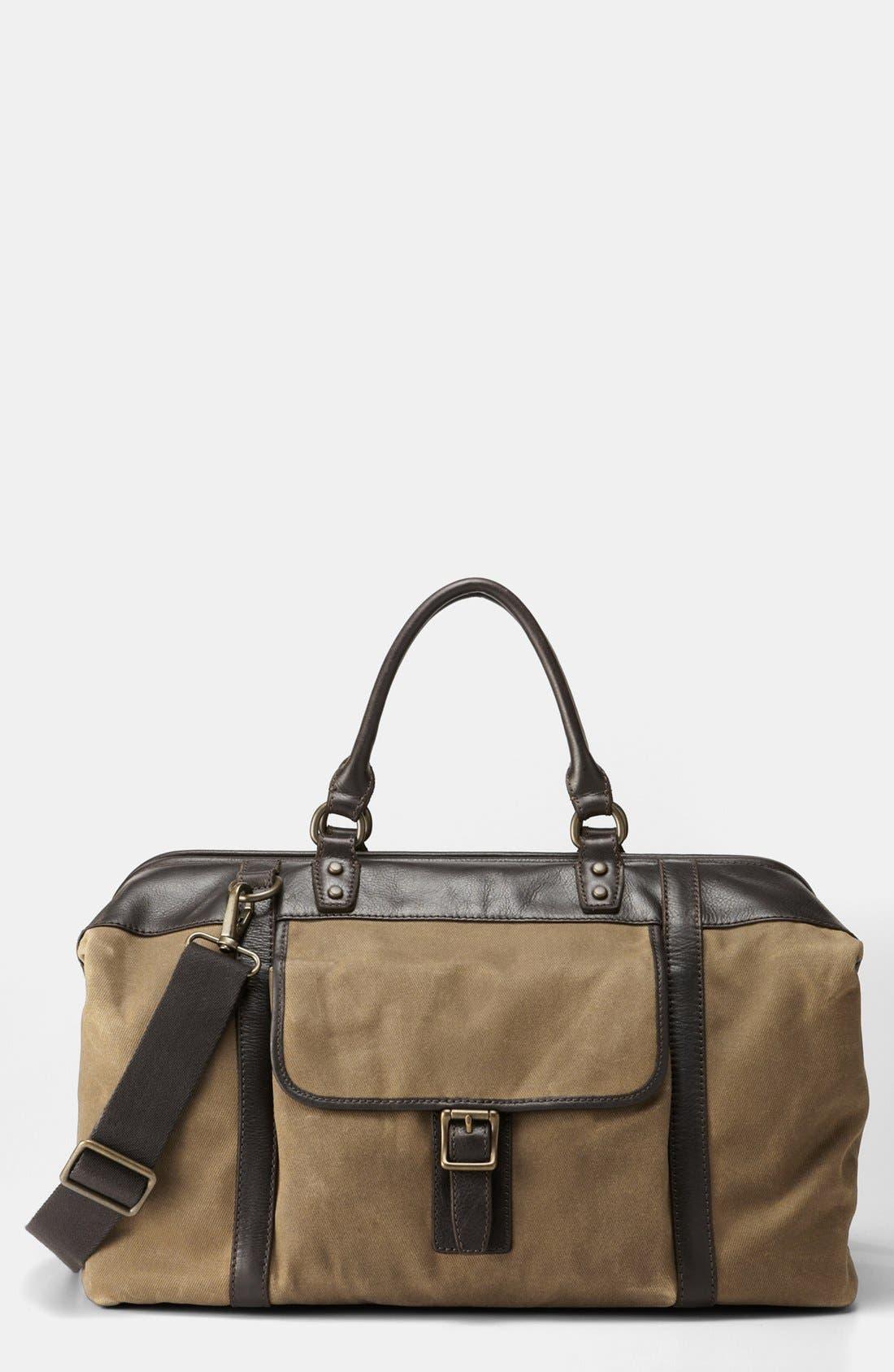 Alternate Image 1 Selected - Fossil 'Estate' Duffle Bag
