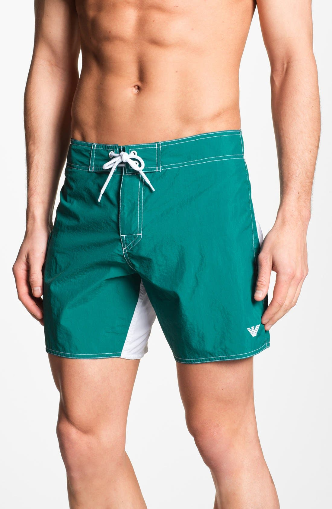 Alternate Image 1 Selected - Emporio Armani Board Shorts