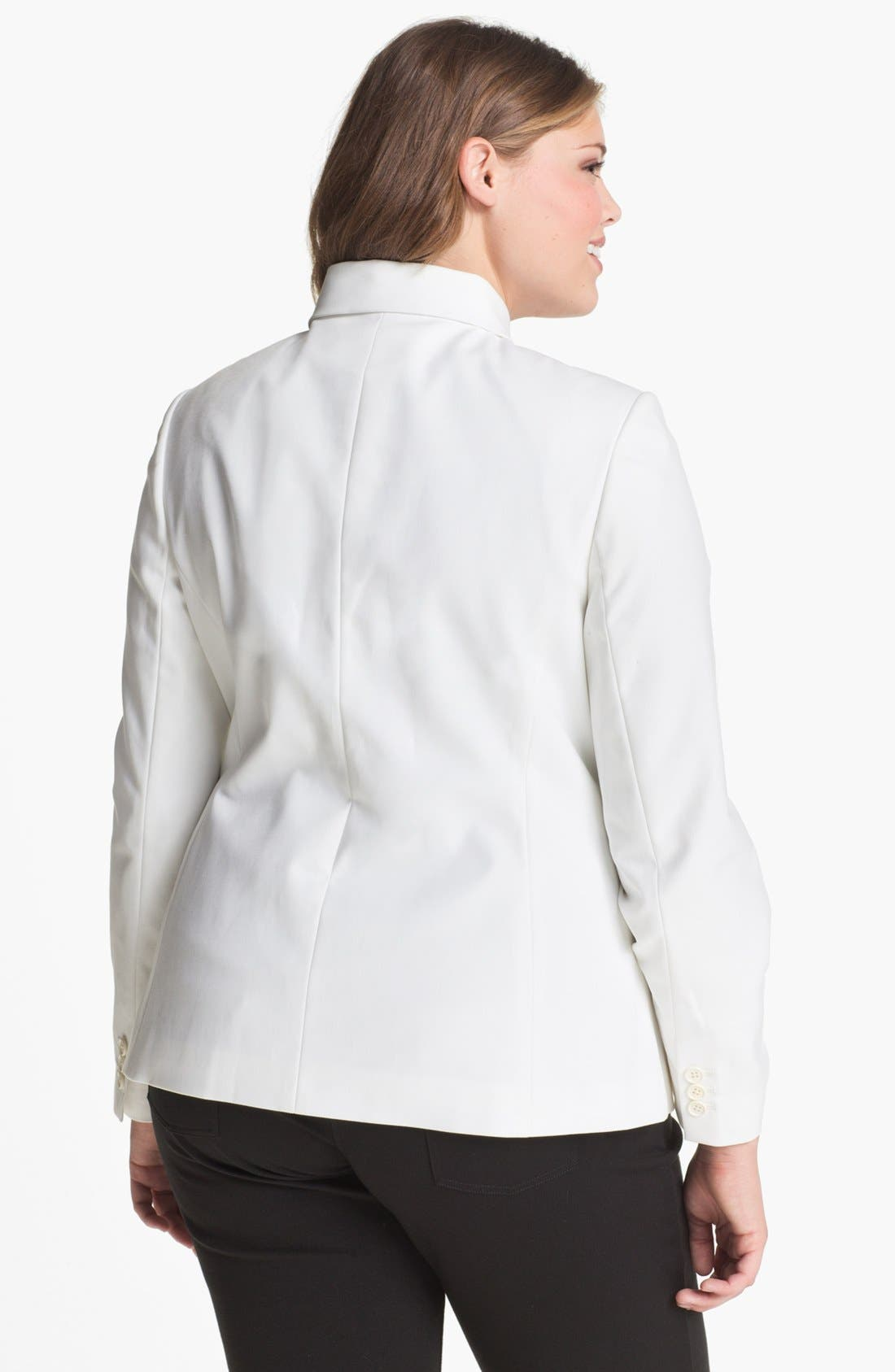 Alternate Image 2  - Tahari Woman 'Carina' Jacket (Plus)