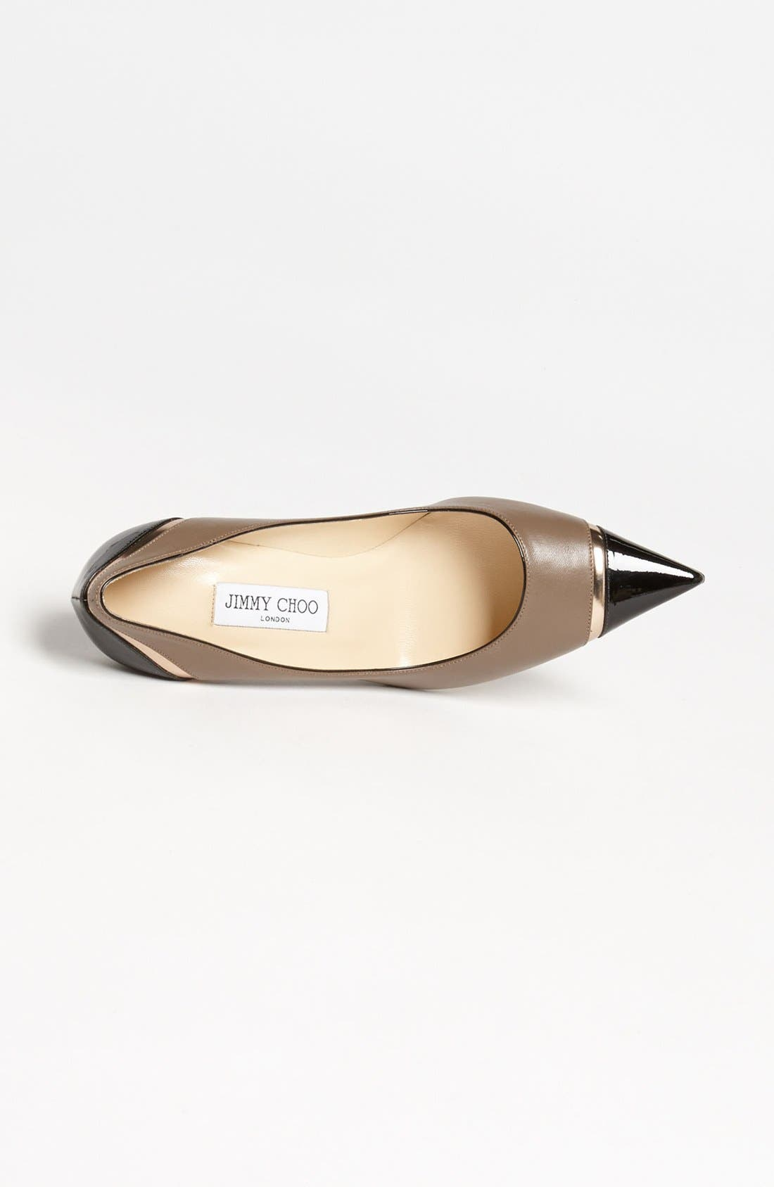 Alternate Image 3  - Jimmy Choo 'Lilo' Cap Toe Pump